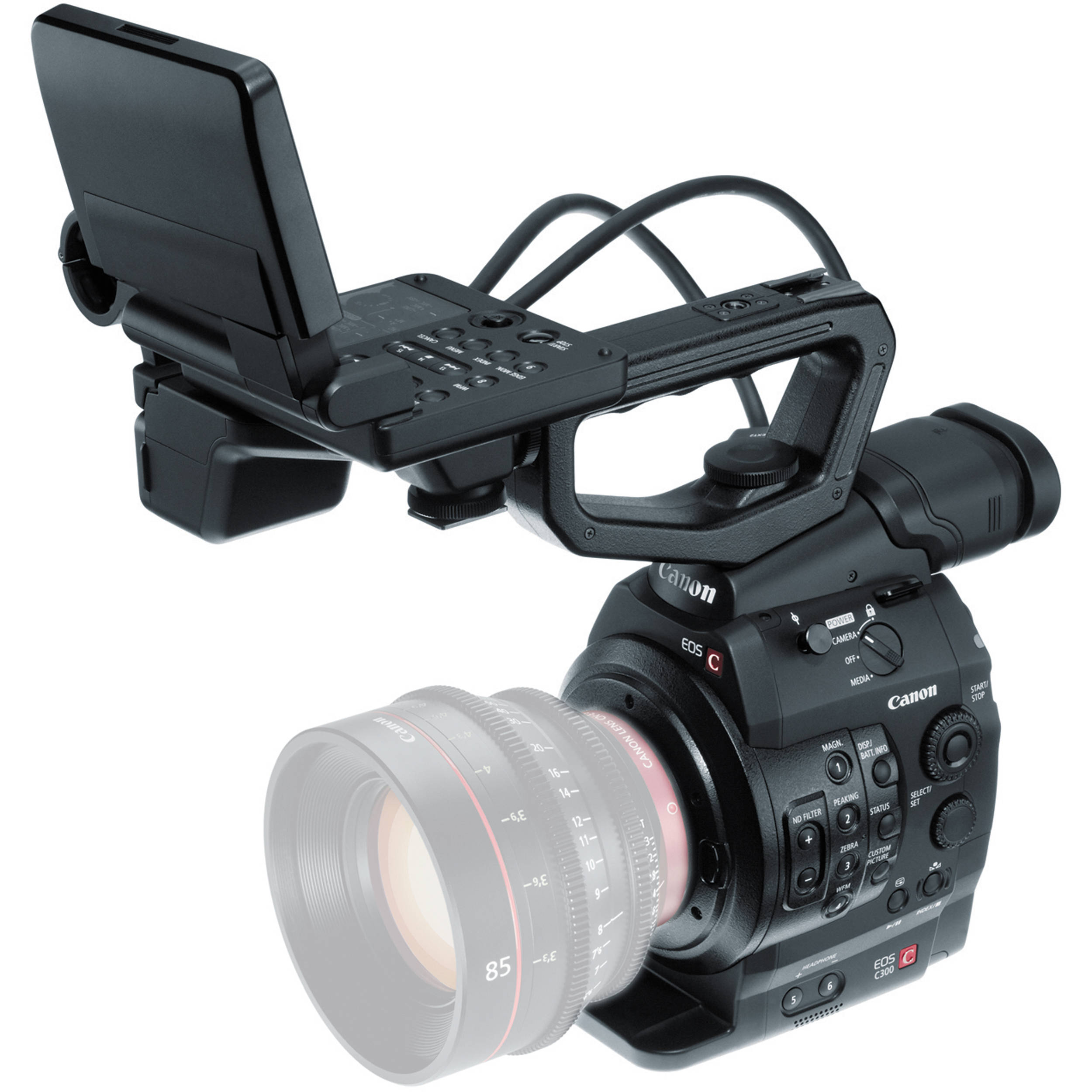 Canon Cinema Eos C300 Pl Camcorder Body Lens Mount