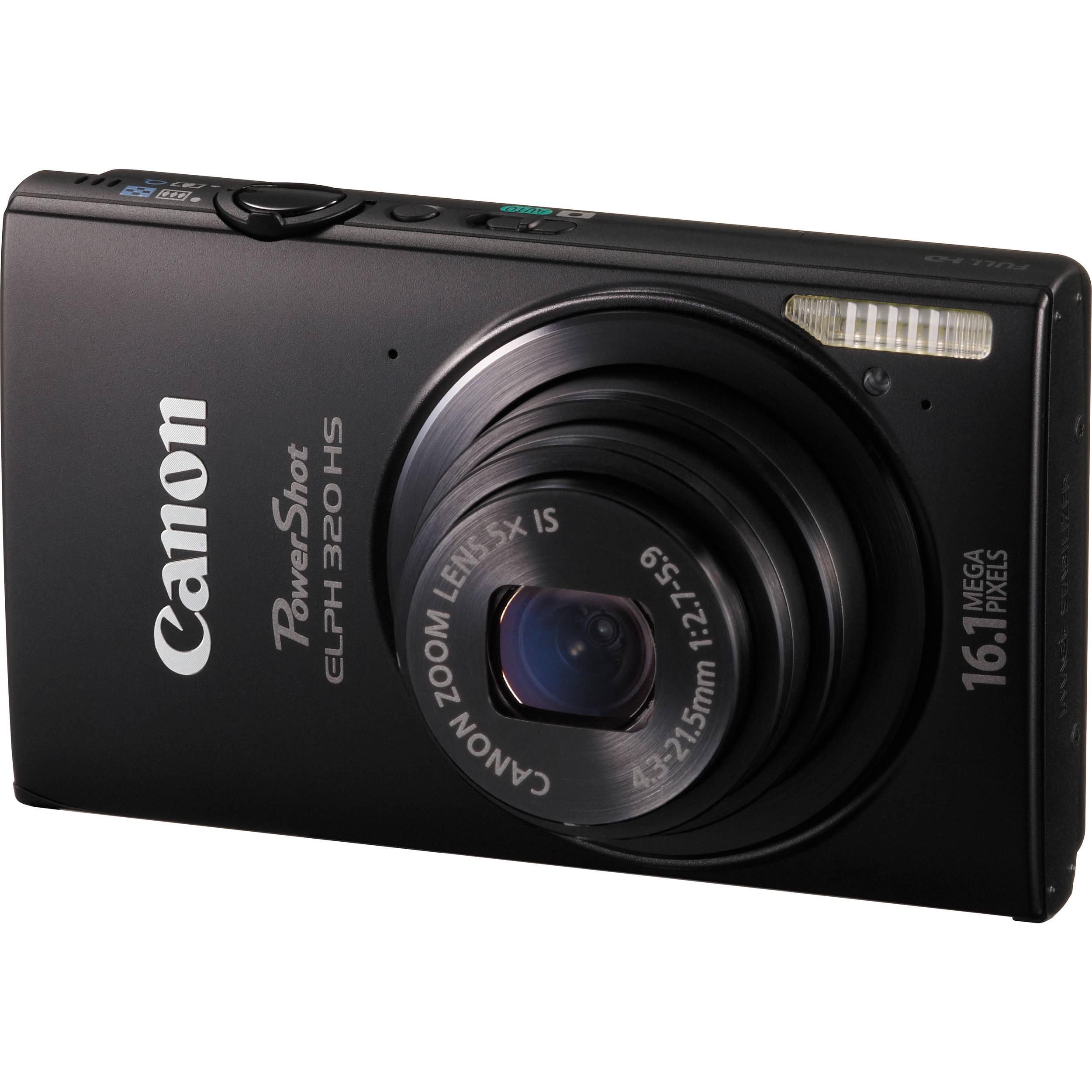 Canon powershot elph 320 hs.