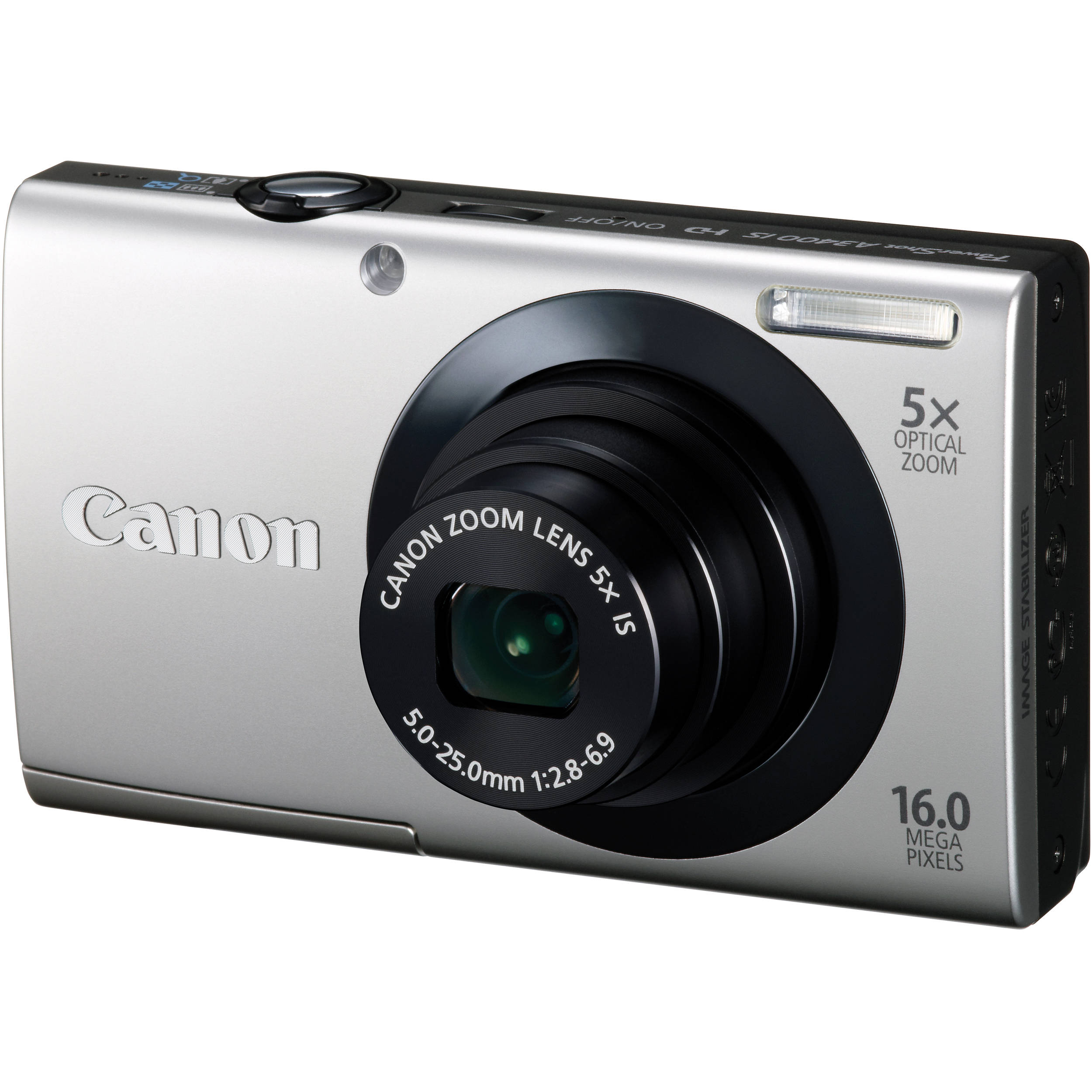 Canon PowerShot A3400 IS Touch Screen Digital Camera 6182B001