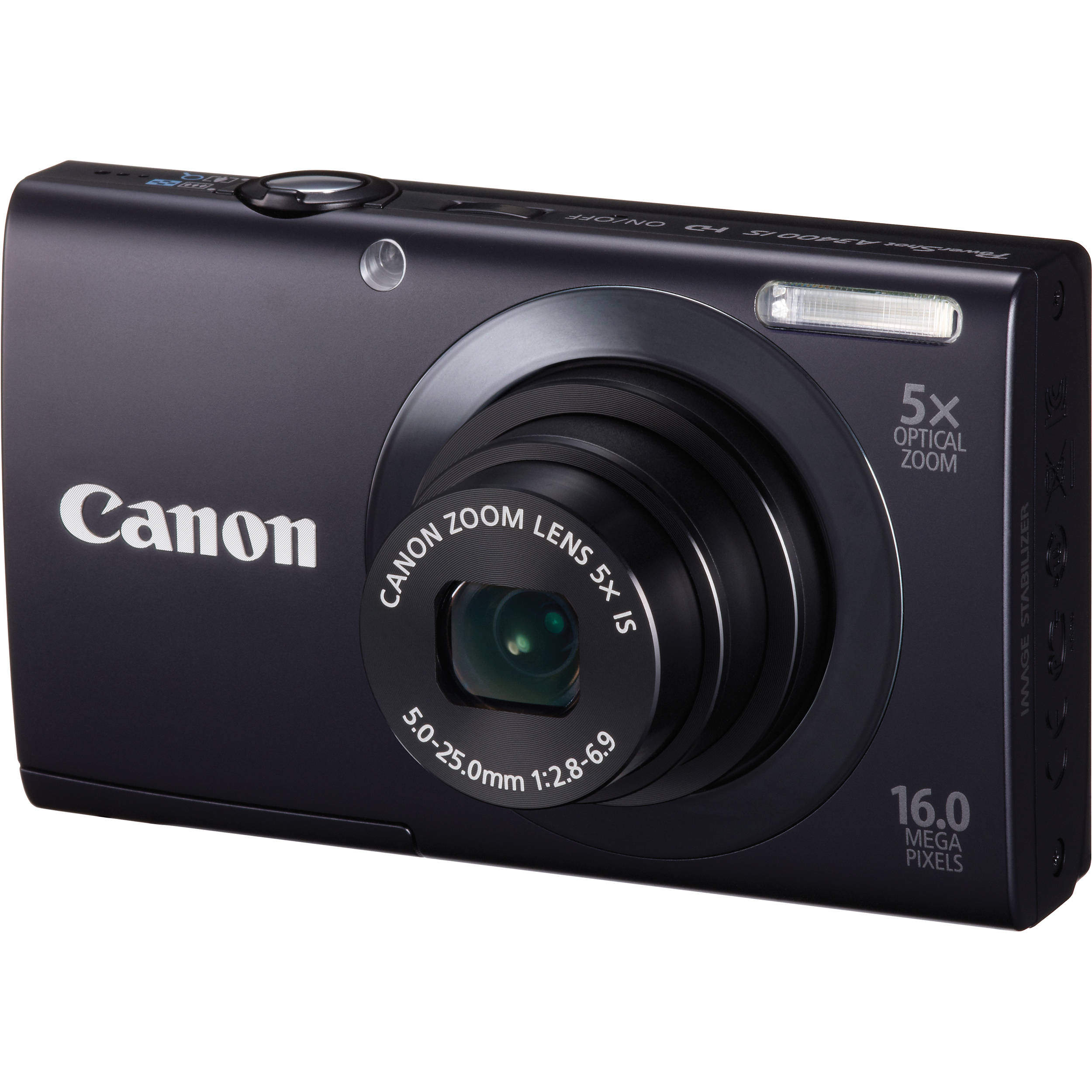 Canon PowerShot A3400 IS Touch Screen Digital Camera 6185B001