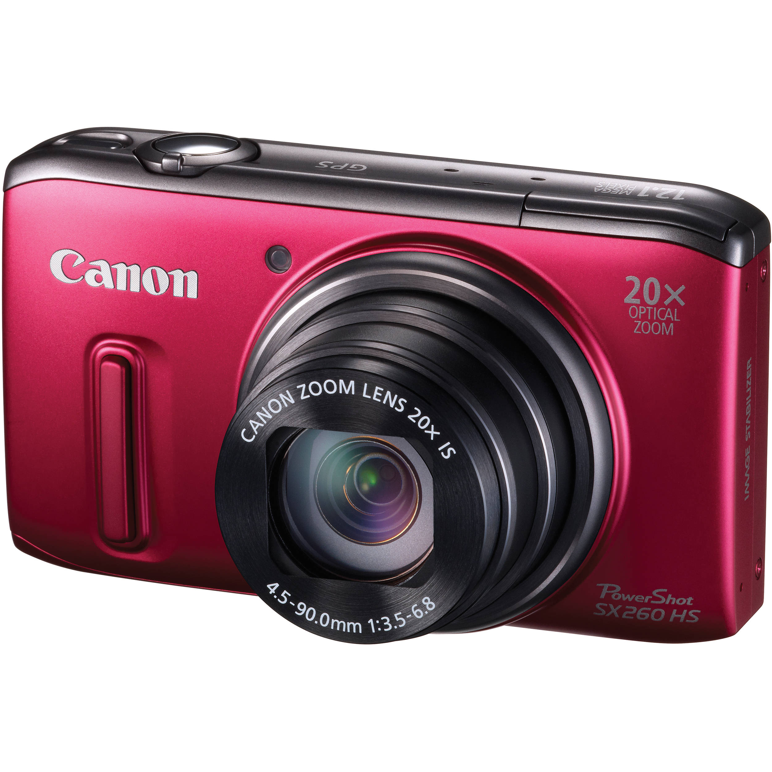 Image result for red canon powershot sx260hs