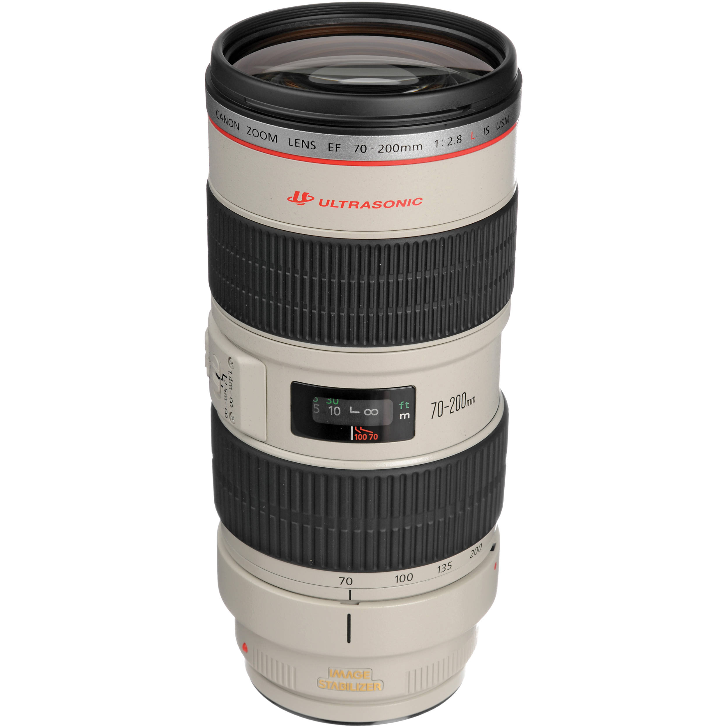 Canon ef 70 200mm f 2 8l is usm telephoto zoom lens b h photo for Schuhschrank 70 x 200