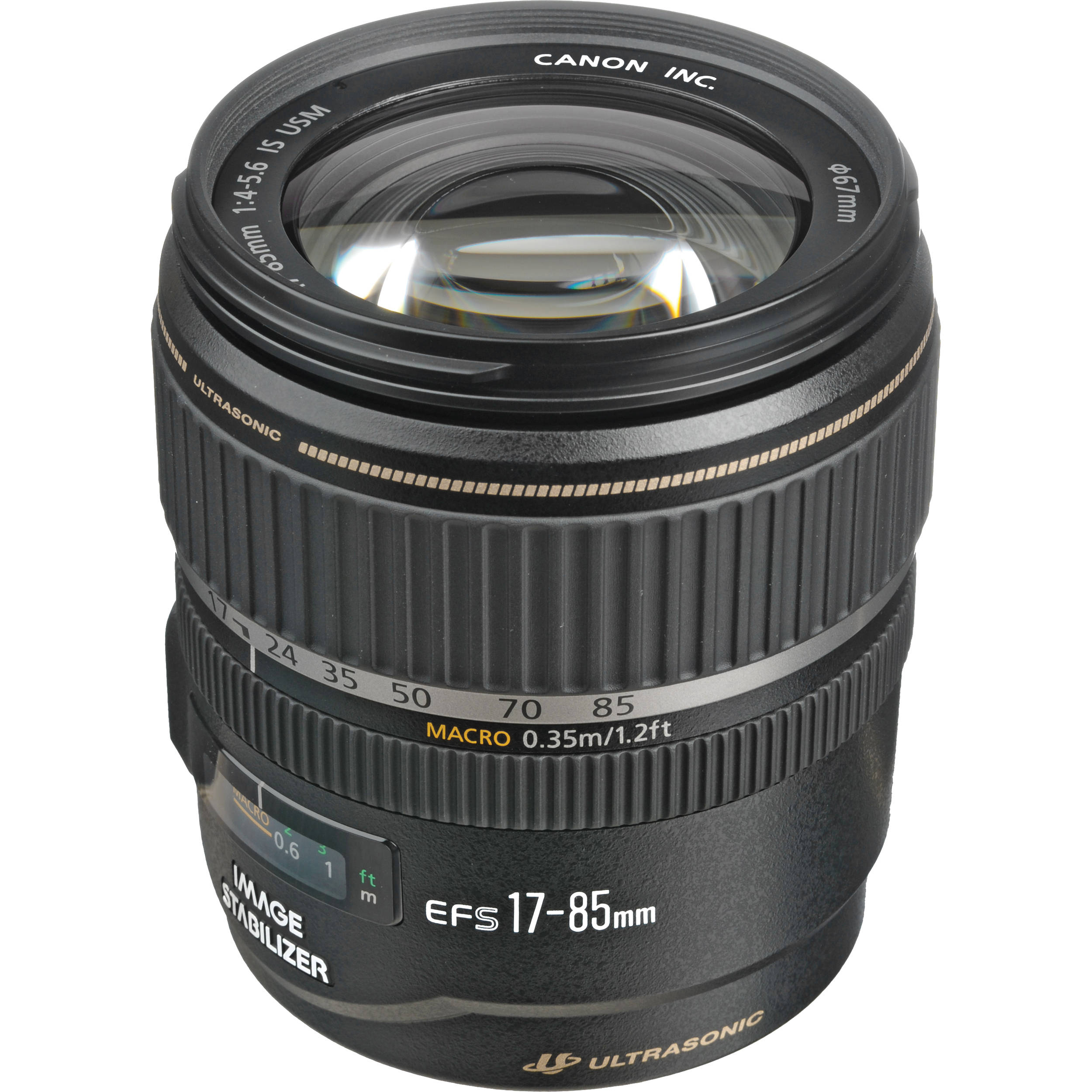 Translations Into Italian: Canon EF-S 17-85mm F/4-5.6 IS USM Lens 9517A002 B&H Photo