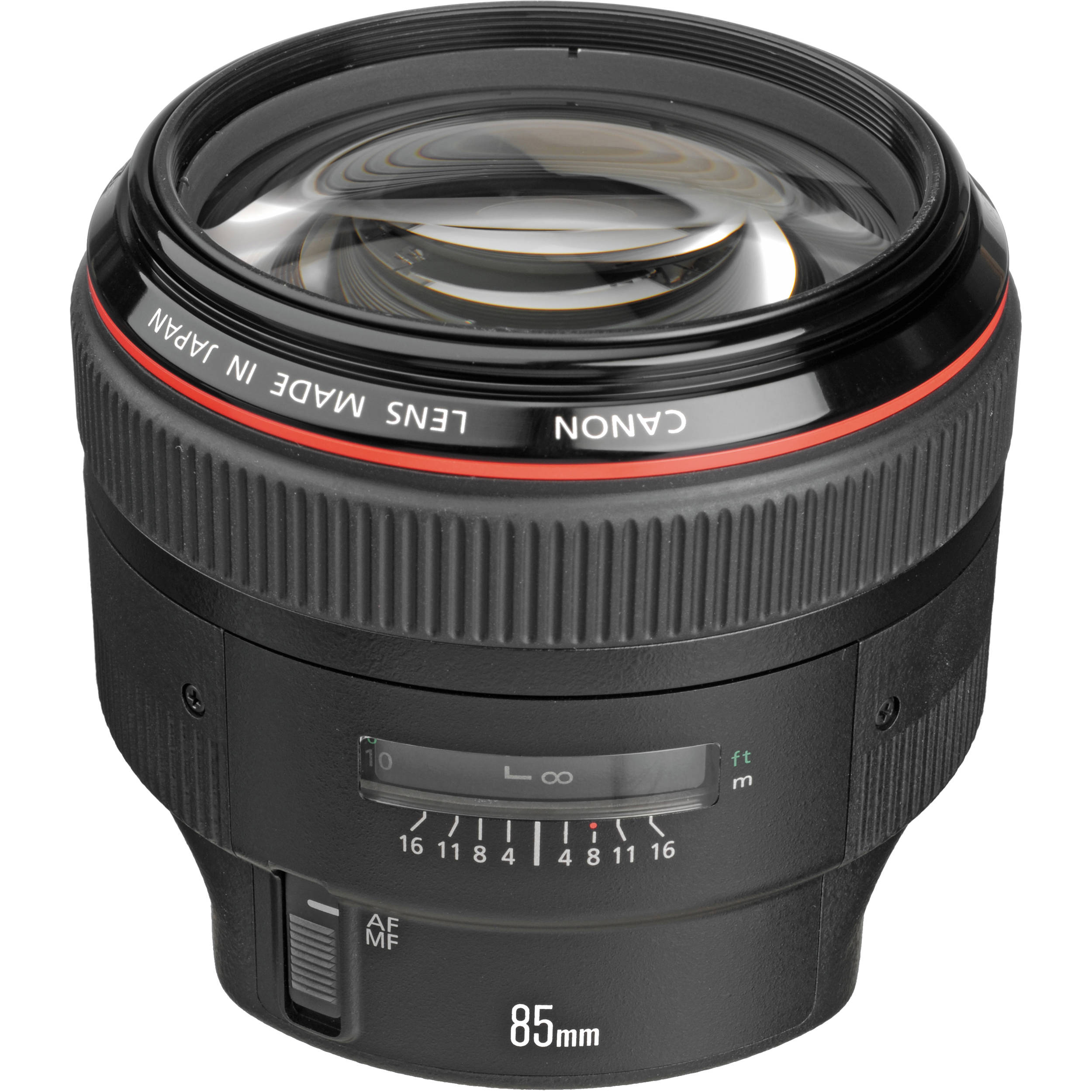 canon ef 85mm f 1 2l ii usm lens b h photo video