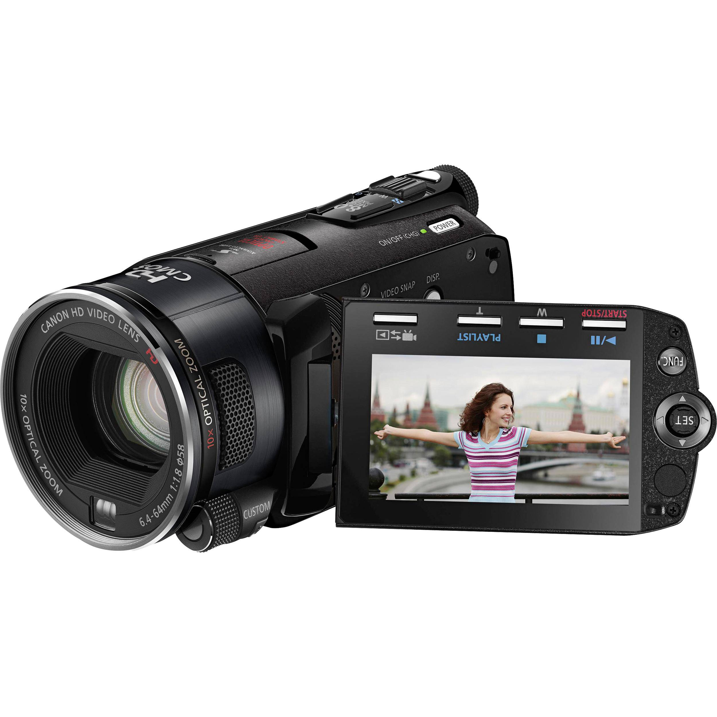 Canon Legria HF S10 Dual Flash Memory High Definition 'PAL' Camcorder