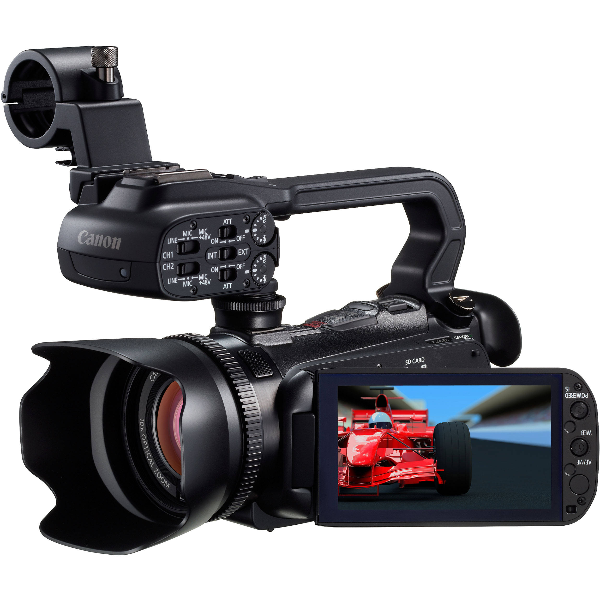 Canon Xa10 Hd Professional Pal Camcorder Xa10e Bh Photo Video Processor With Automatic Cut Off Control