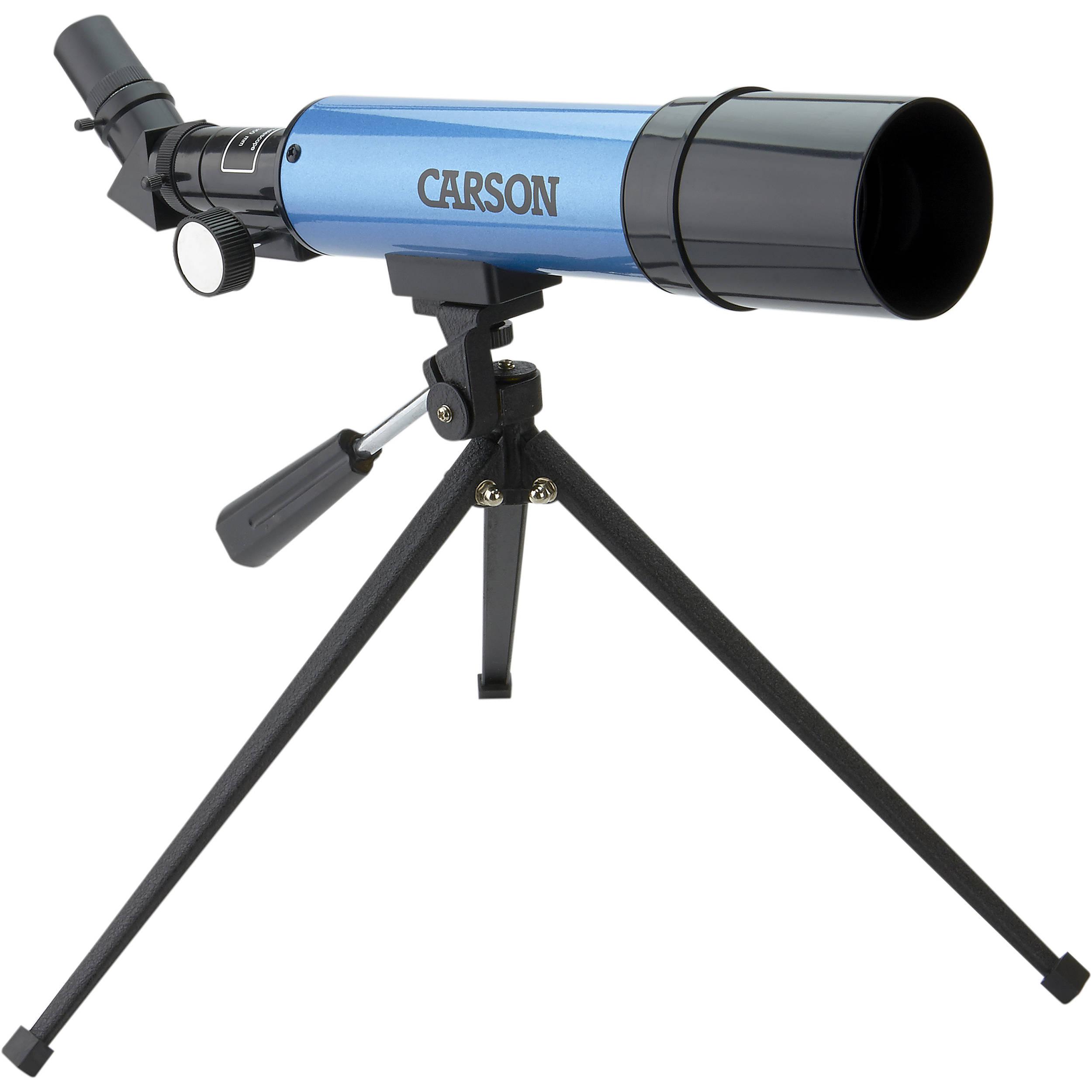 Elegant Carson Aim 50mm F/7 Refractor Telescope