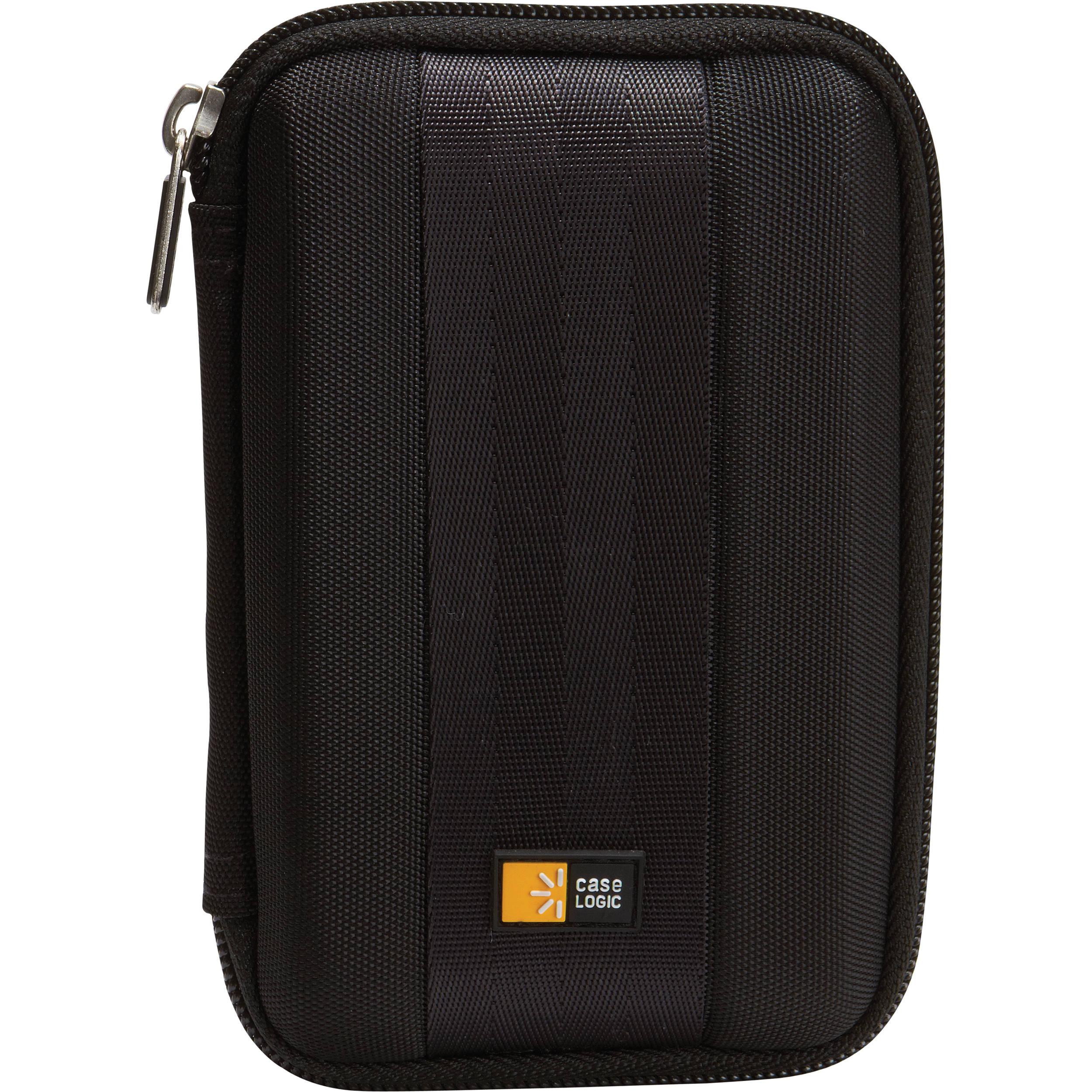 Case logic qhdc 101 portable hard drive case black qhdc for Housse case logic