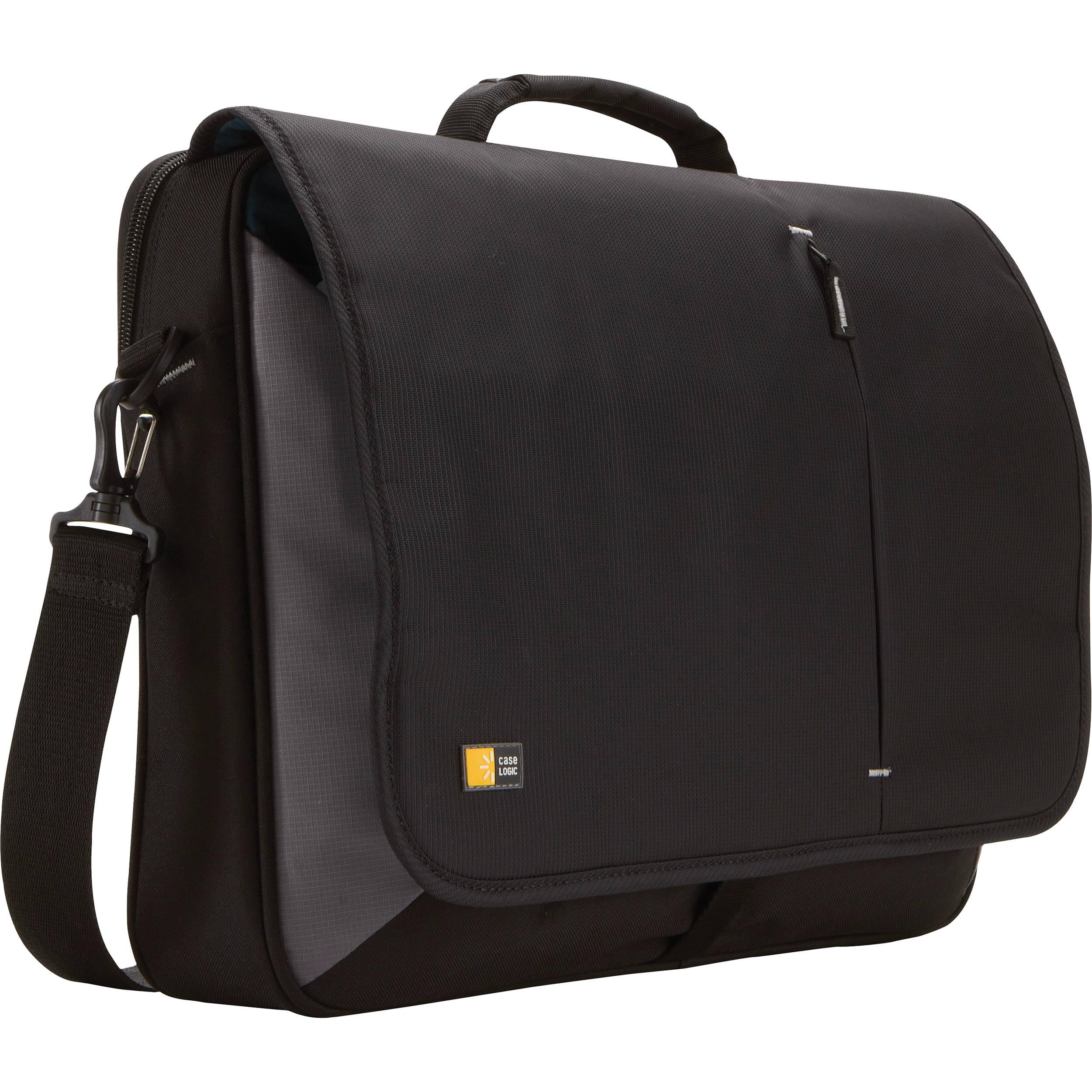 Case Logic 17 Quot Laptop Messenger Bag Vnm 217 B Amp H Photo
