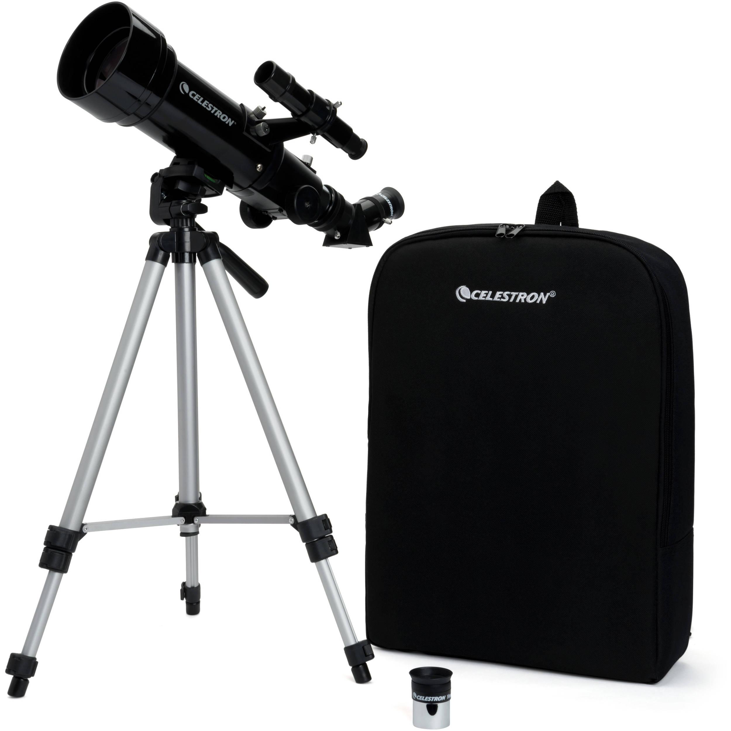 celestron travel scope 70mm f 5 7 az refractor telescope 21035. Black Bedroom Furniture Sets. Home Design Ideas