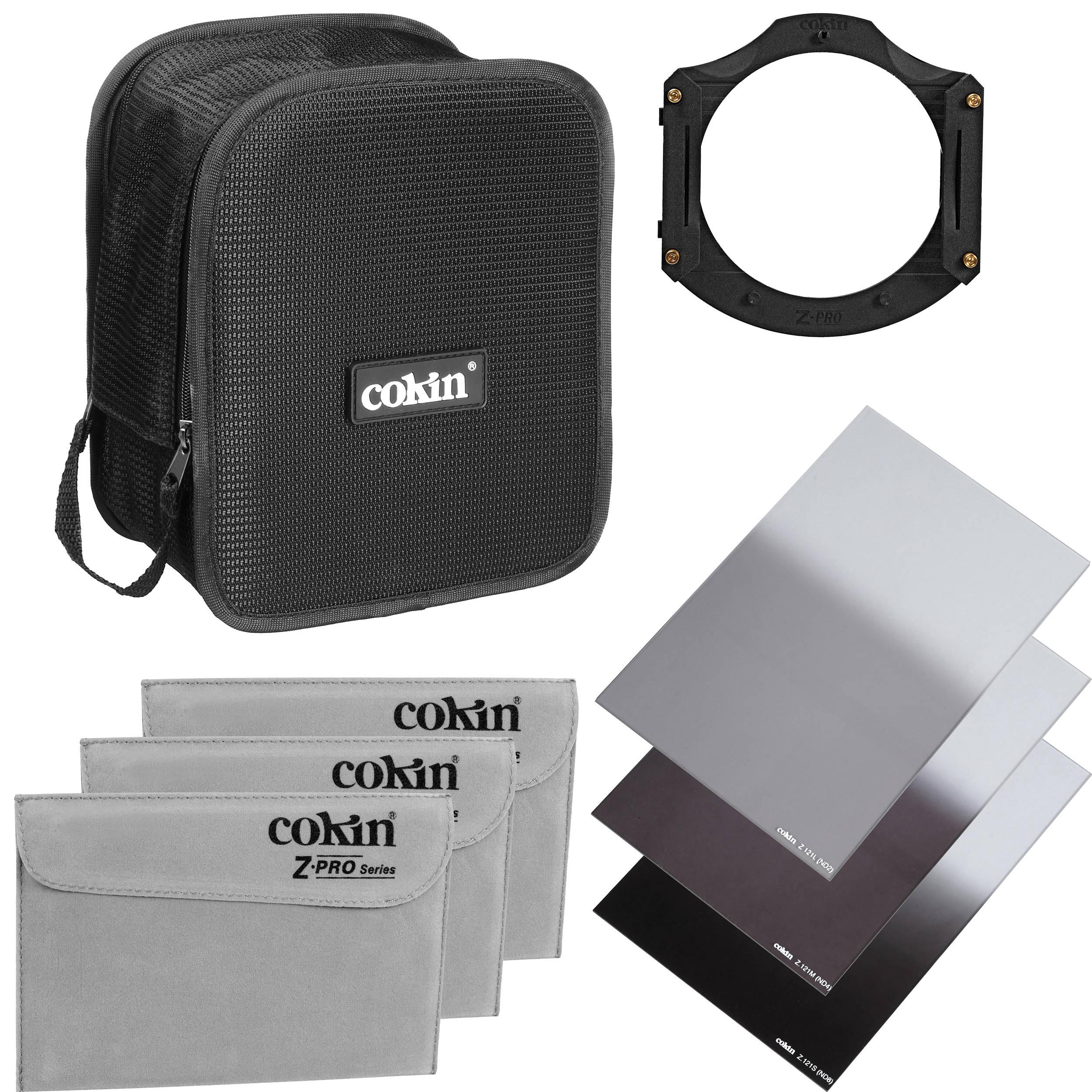 Cokin Z Pro U960 Graduated Neutral Density Filter Kit Cu960 Lee Filters 100x150 Nd 06 Soft