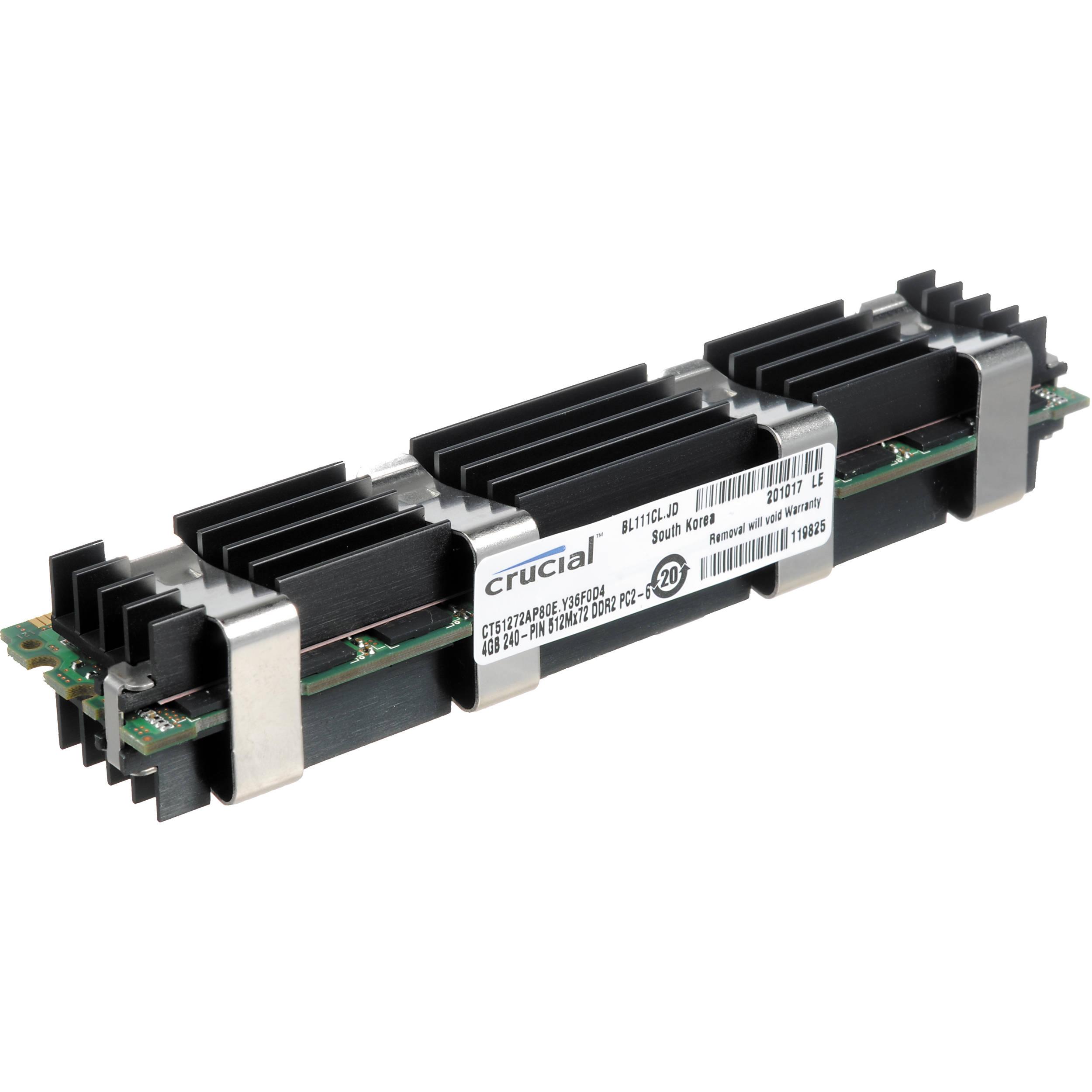 Crucial 4GB FB DIMM Memory For Mac Pro