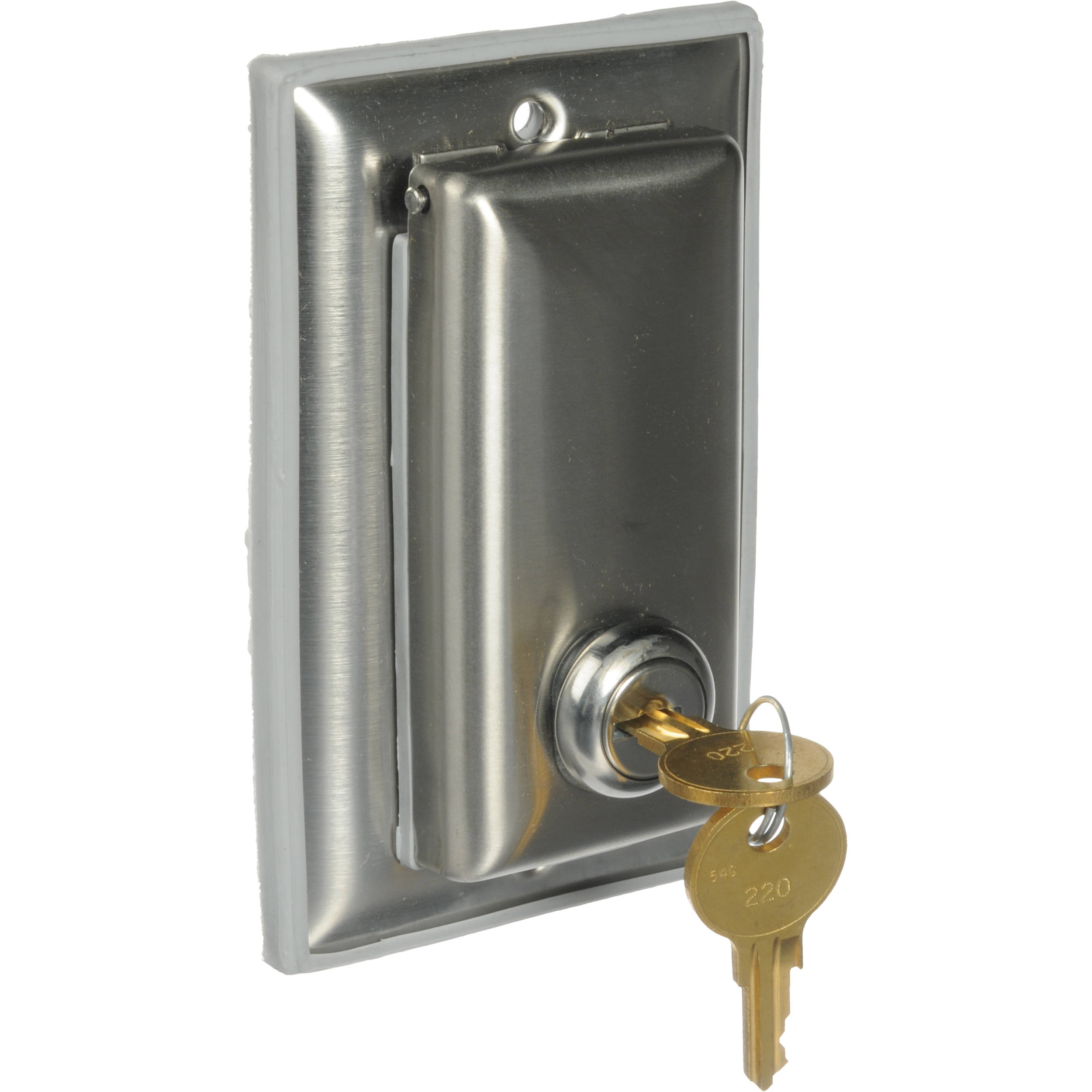 Da Lite Key Locking Coverplate For 115v Or Low Voltage