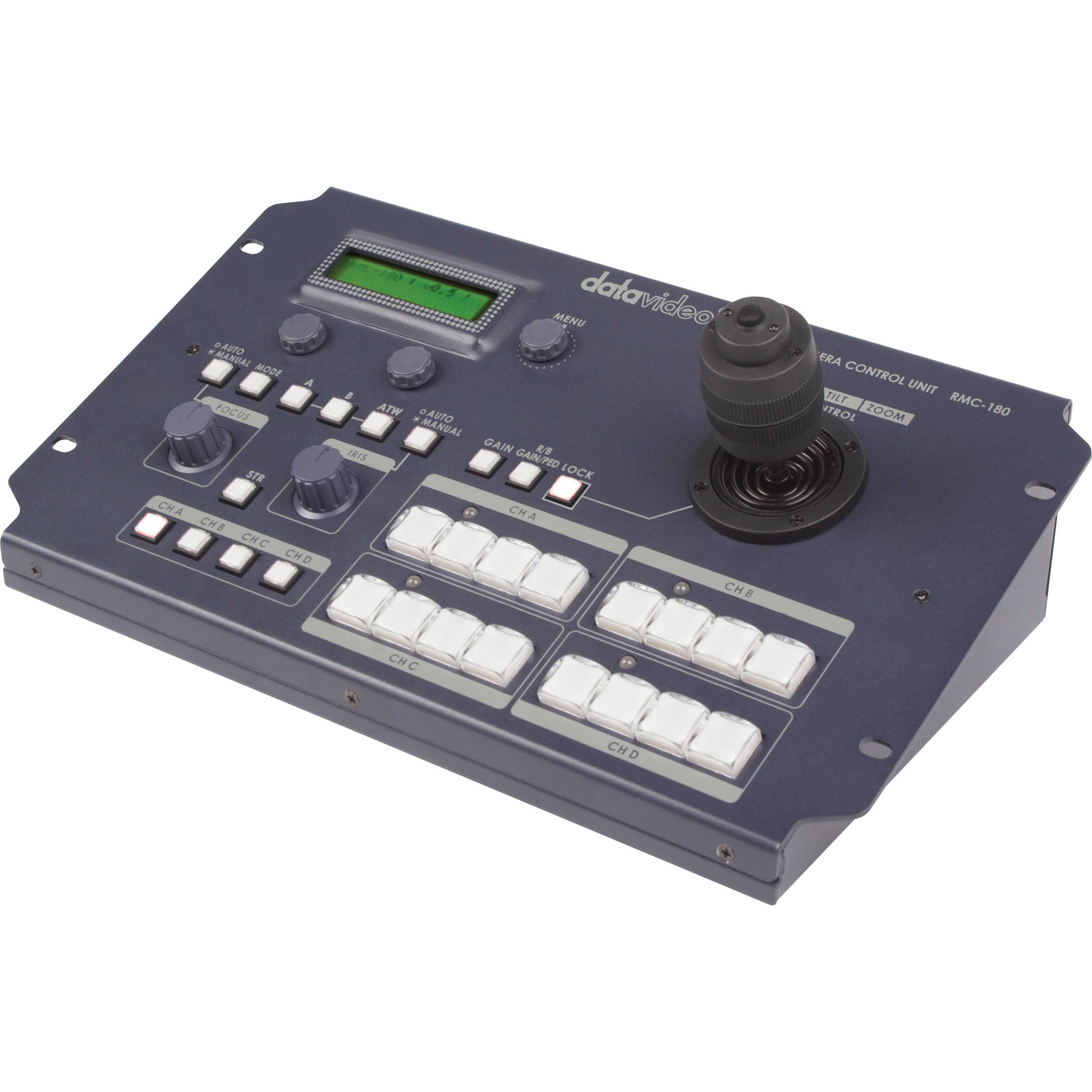 Datavideo RMC-180 PTZ Camera Control Unit RMC-180 B&H ...