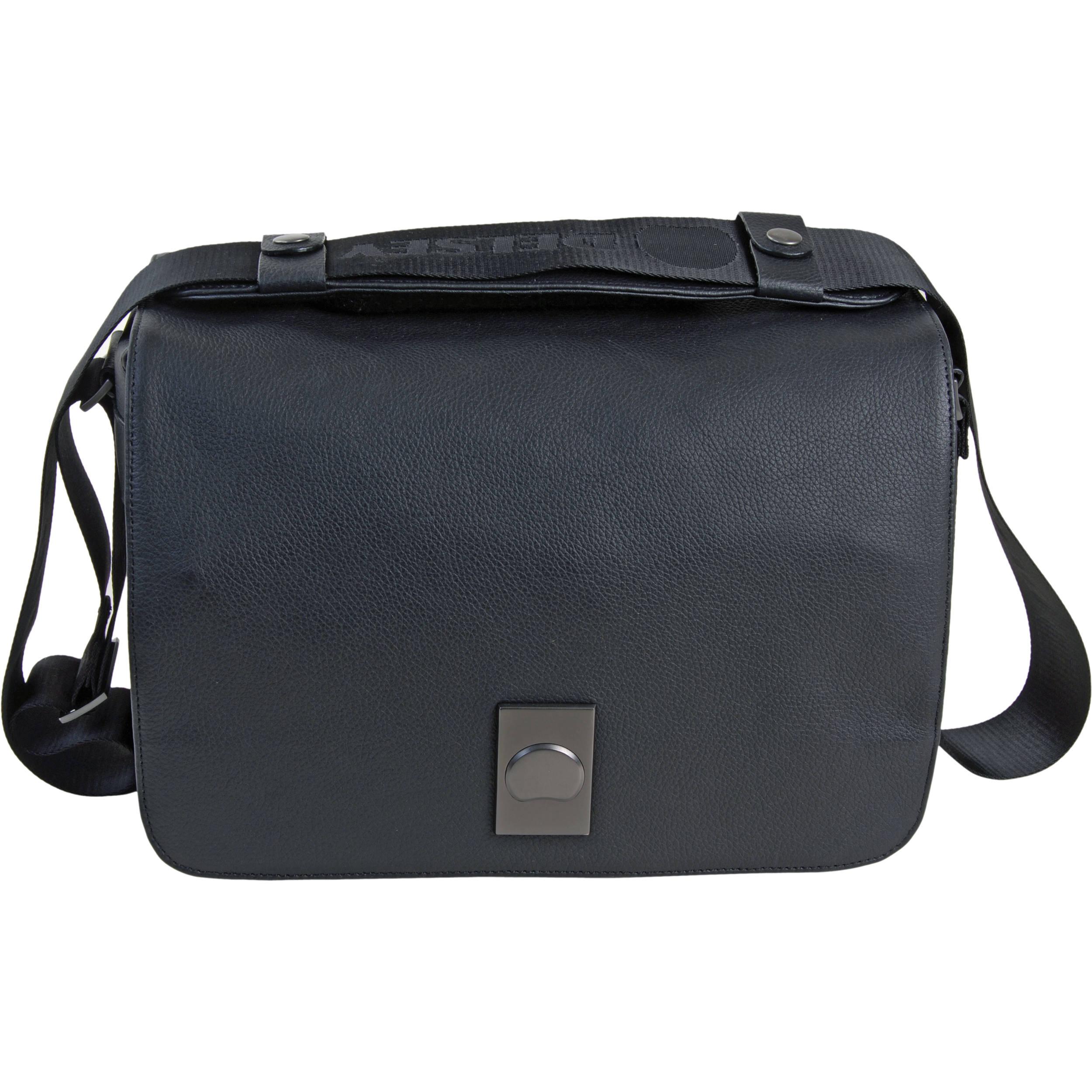 Delsey Corium 5 Shoulder Bag Black