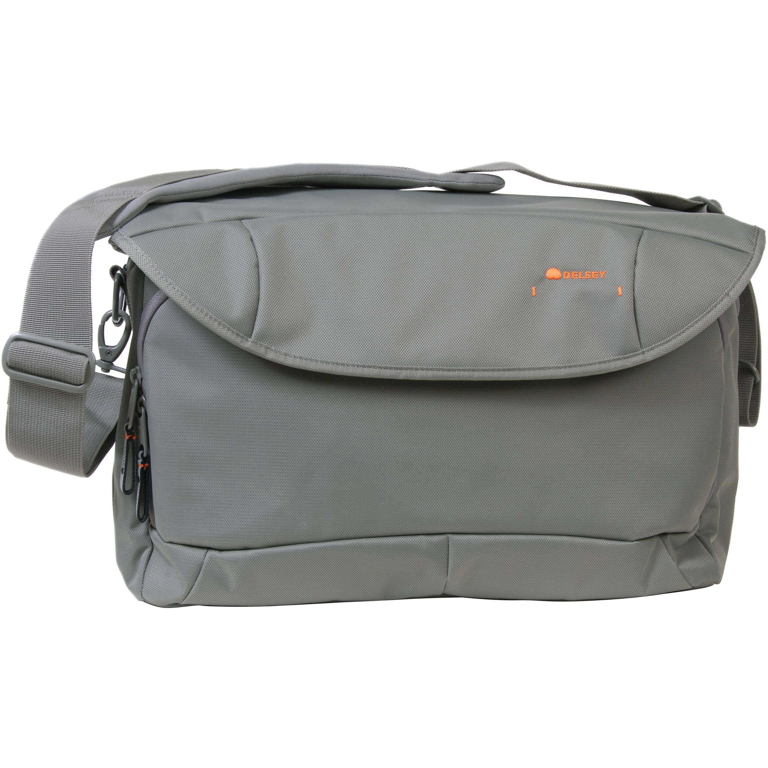 Delsey Odc 35 Large Shoulder Bag Gray