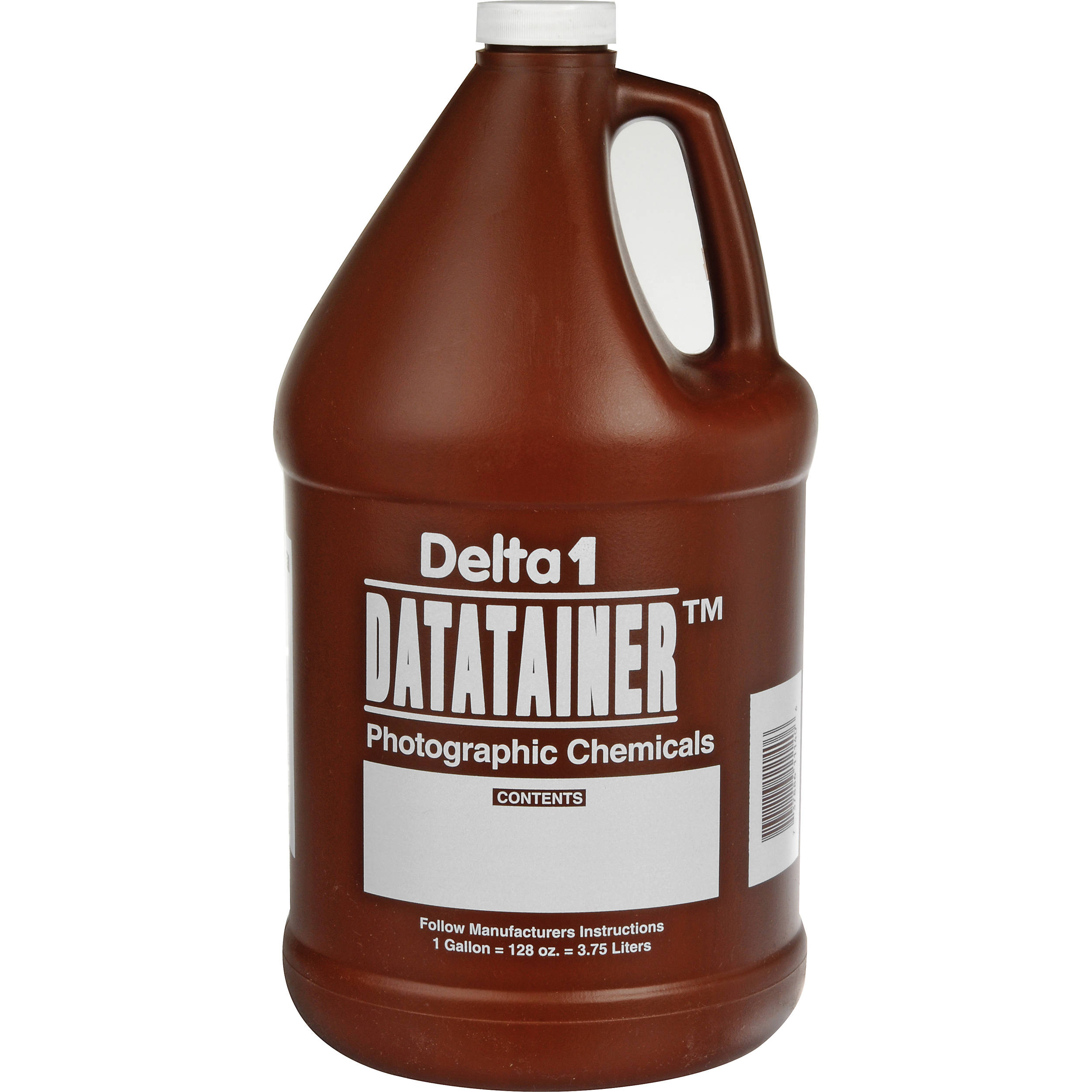 Delta 1 Datatainer Chemical Storage Bottle 128 Oz 11140 B Amp H