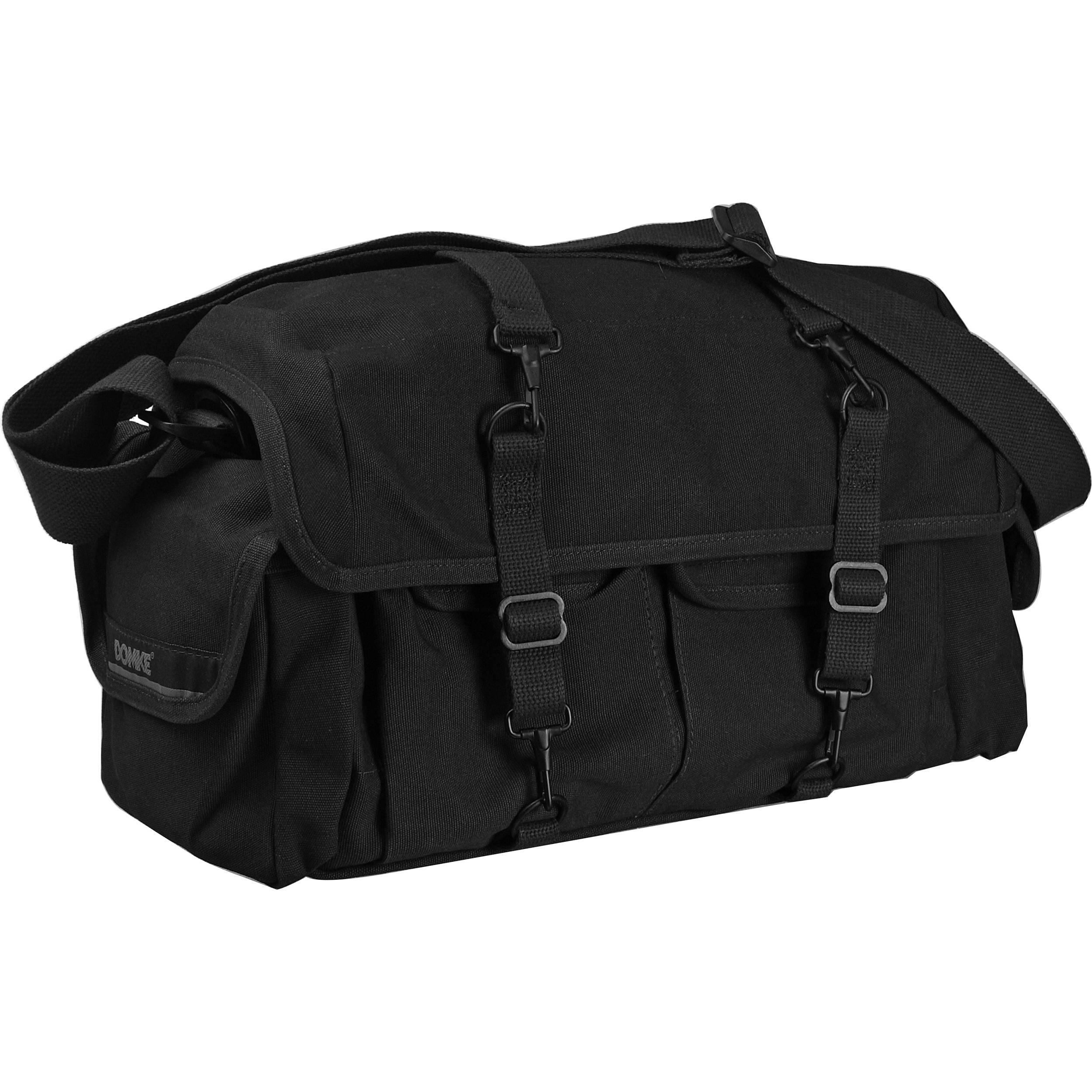 Domke F-1X Little Bit Bigger Classic Series Shoulder Bag (Black) ce8b8f016d6