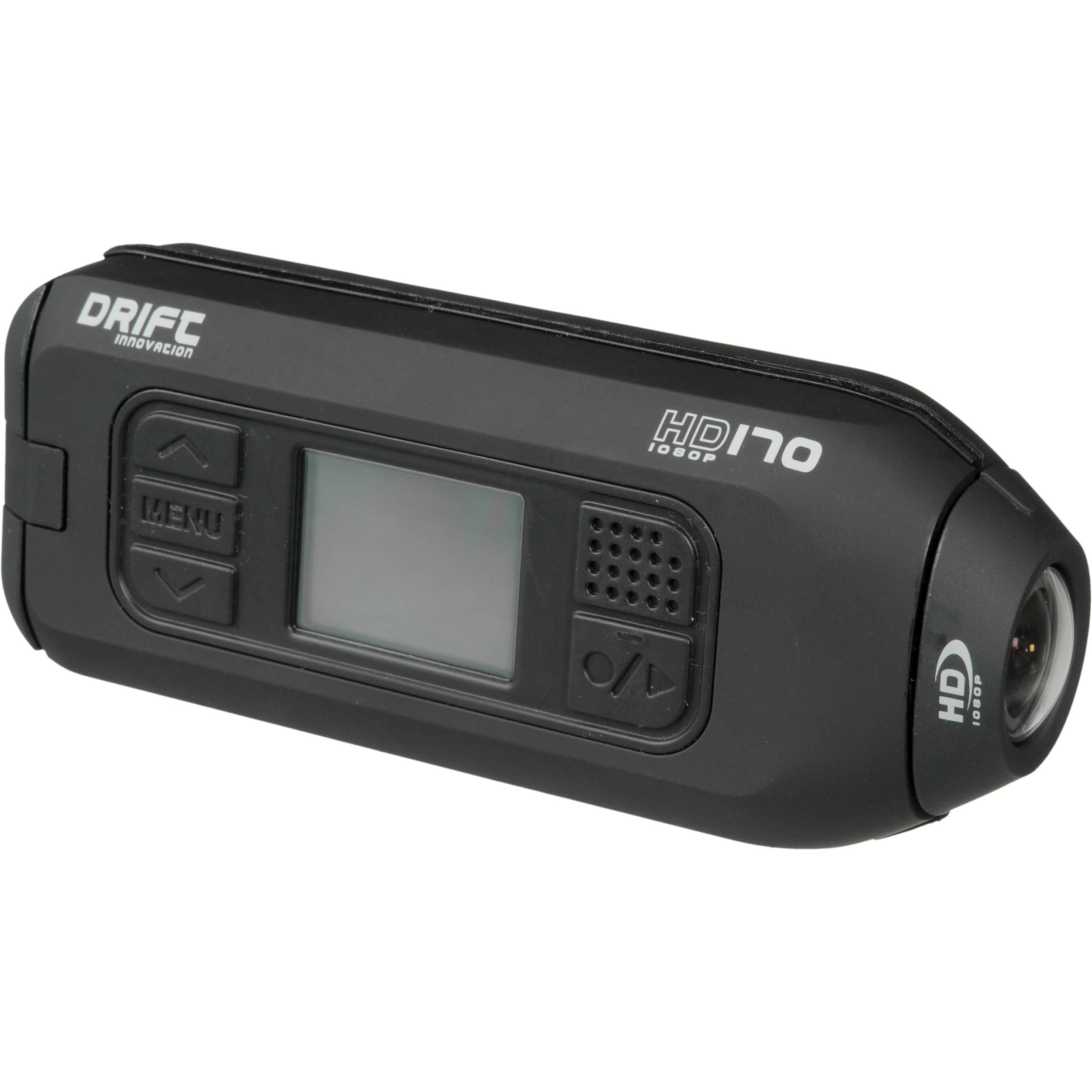 drift hd170 stealth action camera shd170 b h photo video rh bhphotovideo com Drift HD 720 Manual PDF Drift HD Ghost Action Camera
