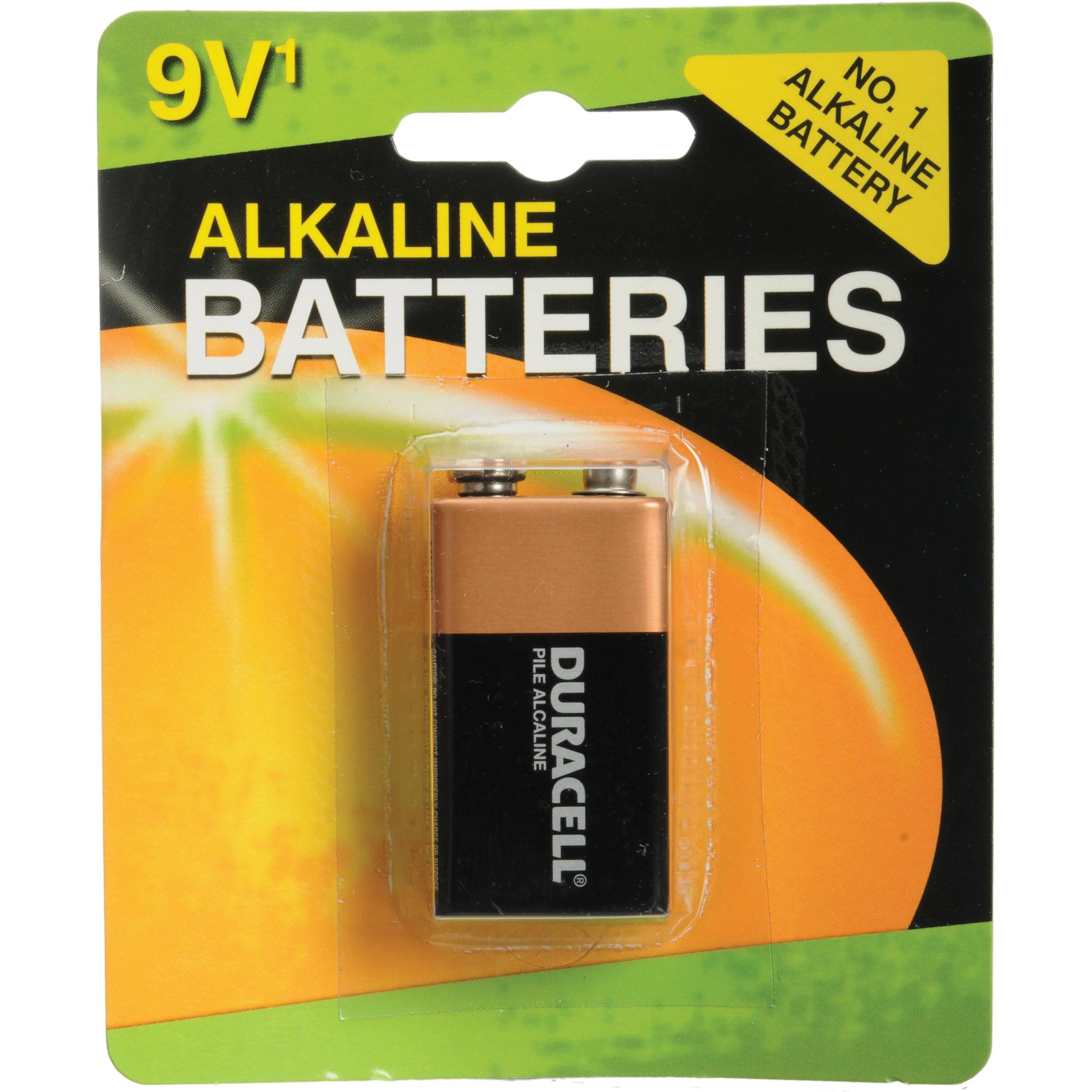 Duracell 9V Alkaline Battery Coppertop