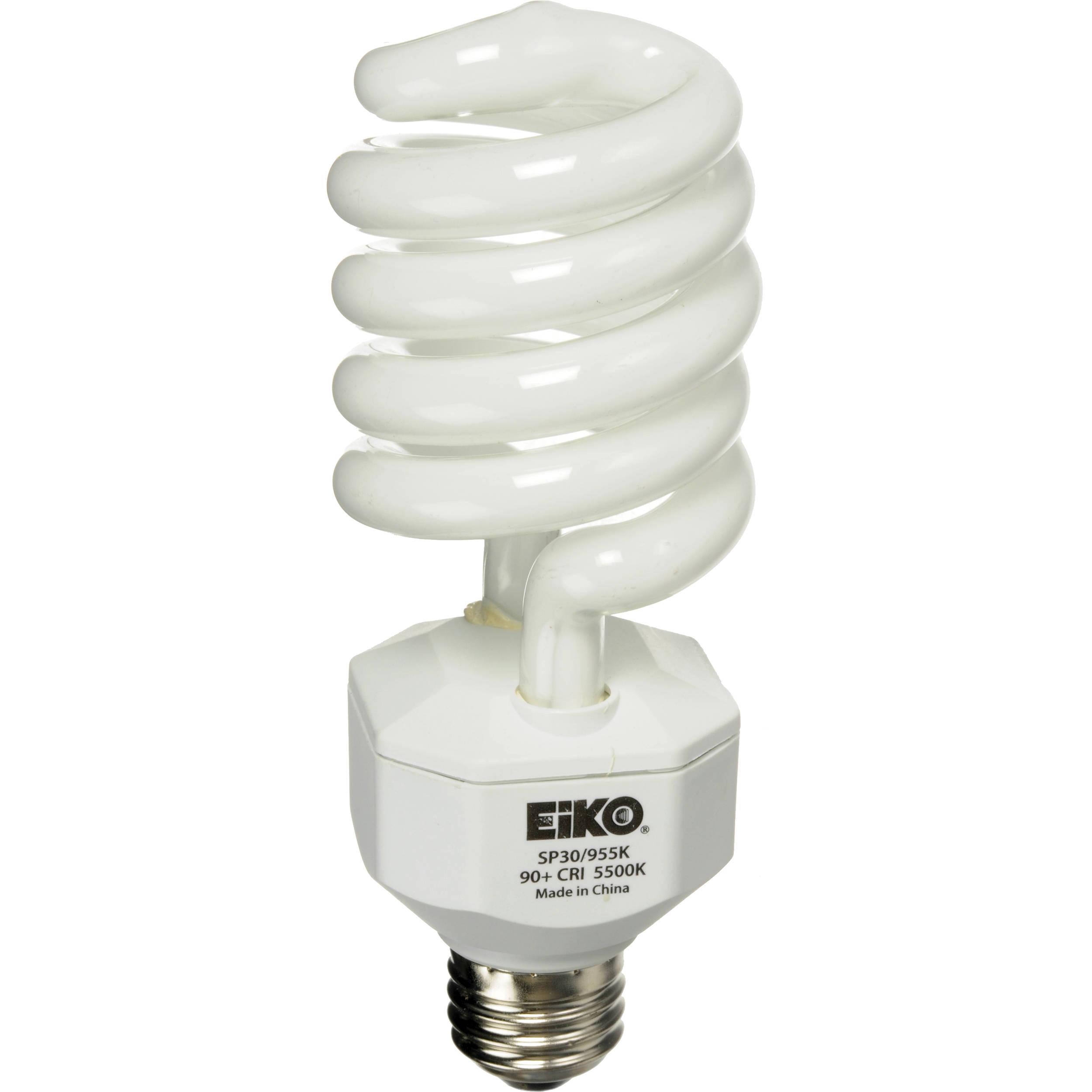 Eiko Spiral Fluorescent Lamp W V SP BH