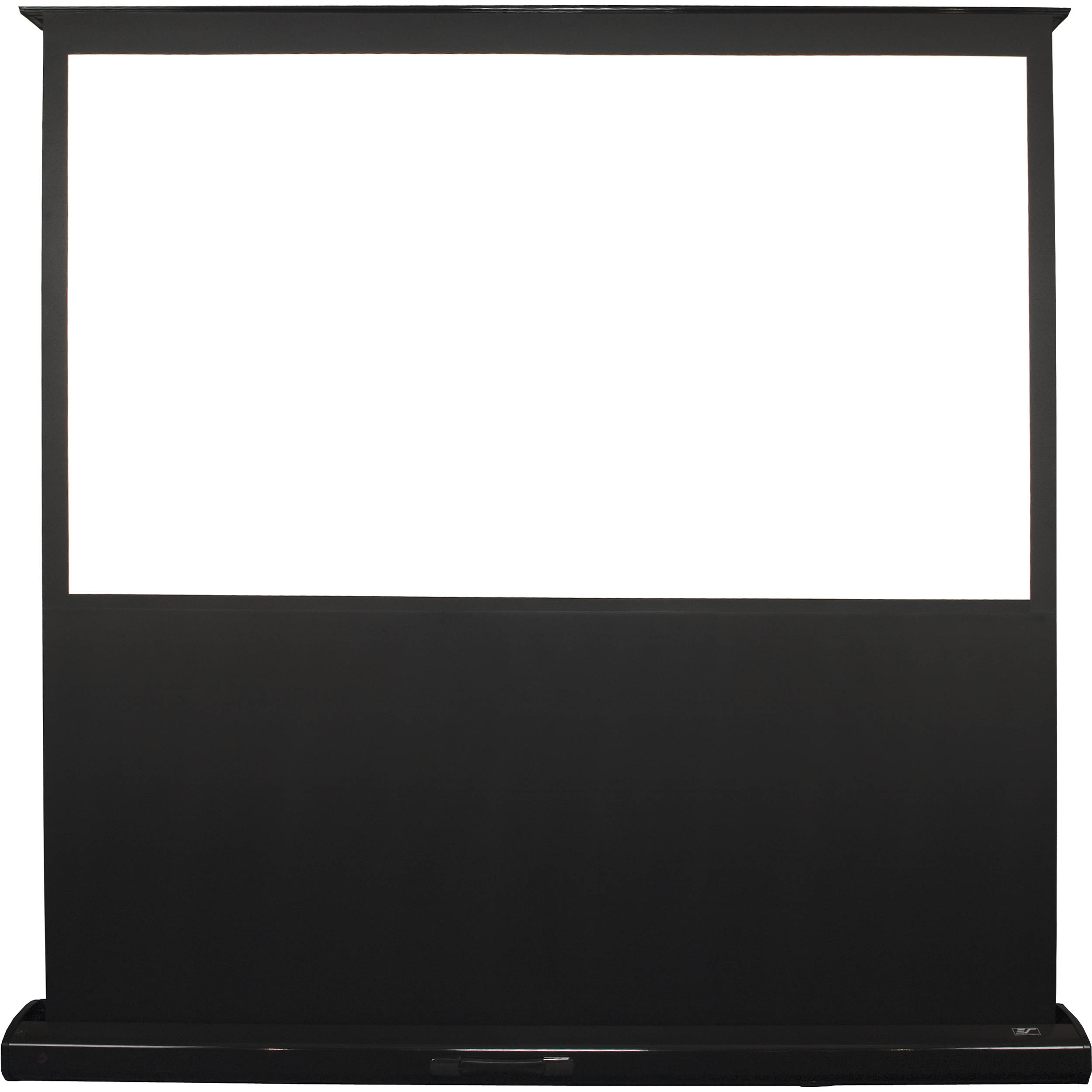 Elite screens home series 106 16 9 motorized feb106h2 b h for Motorized floor up screen
