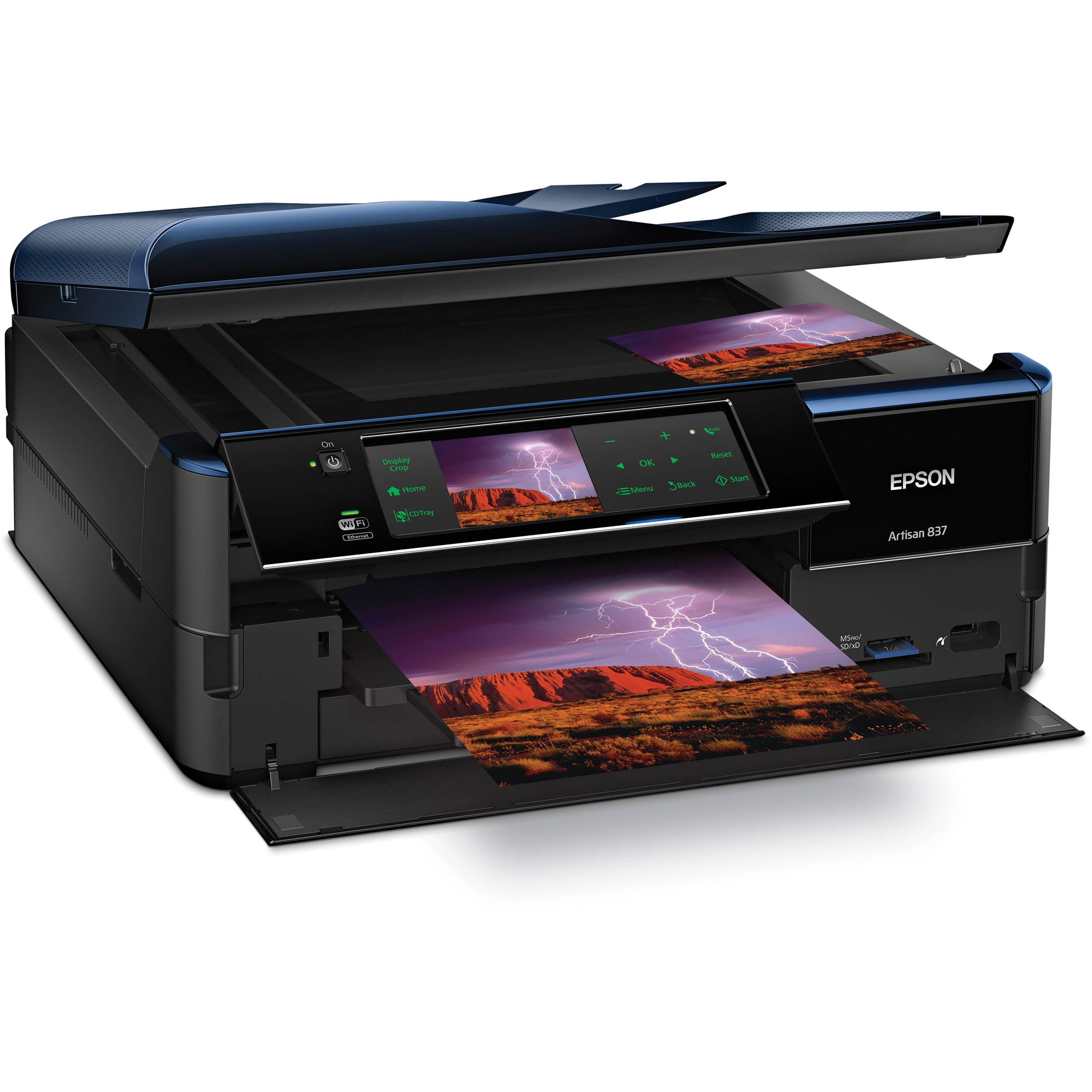 Epson Artisan 837 All In One Color Inkjet Printer