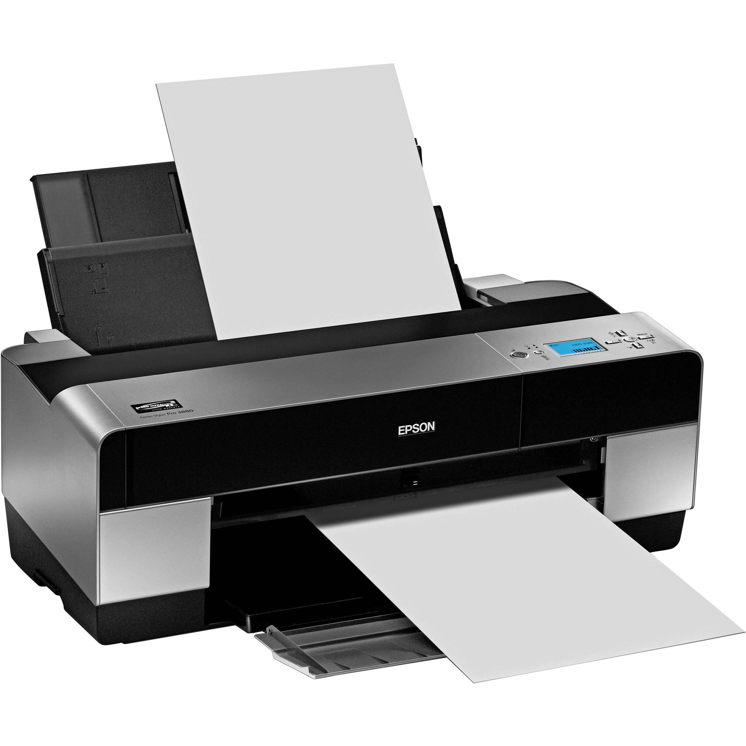 epson stylus pro 3880 large format inkjet printer ca61201 ga b h. Black Bedroom Furniture Sets. Home Design Ideas