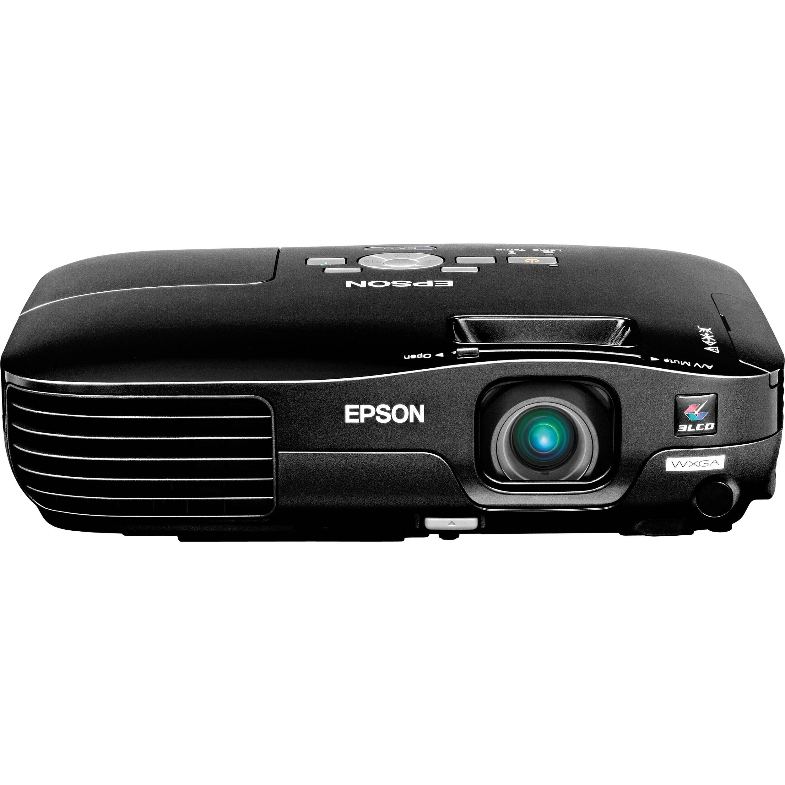 epson ex71 multimedia projector black v11h310120 b b h photo rh bhphotovideo com Epson EX51 Projector Bulb Epson EX71 Projector Lamp