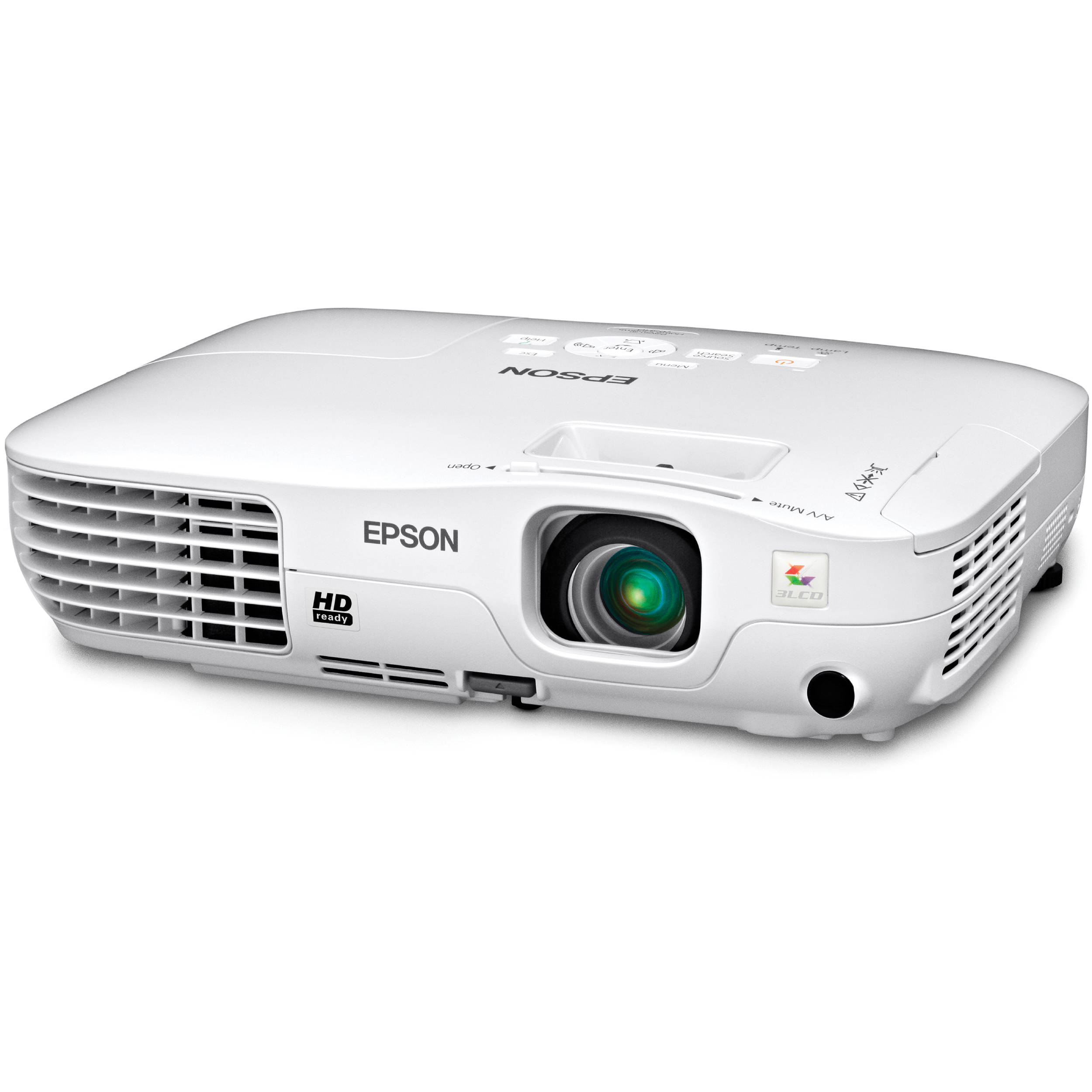 Epson 705HD Powerlite Home Cinema LCD Projector V11H331020 B&H