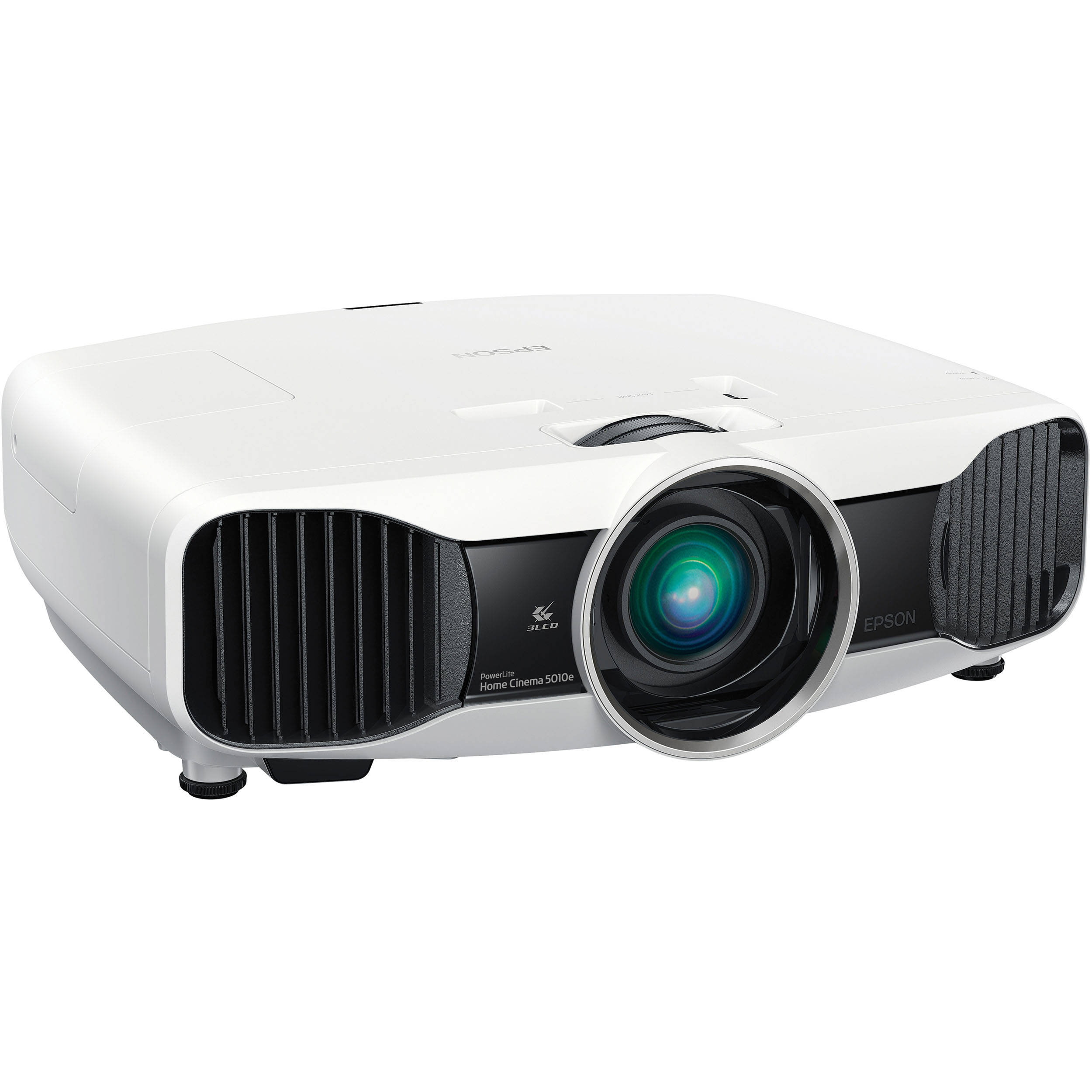 Hd Projector Full Color 720p 2400 Lumens Digital Tv Single: Epson PowerLite Home Cinema 5010e Projector W/ V11H426020 B&H