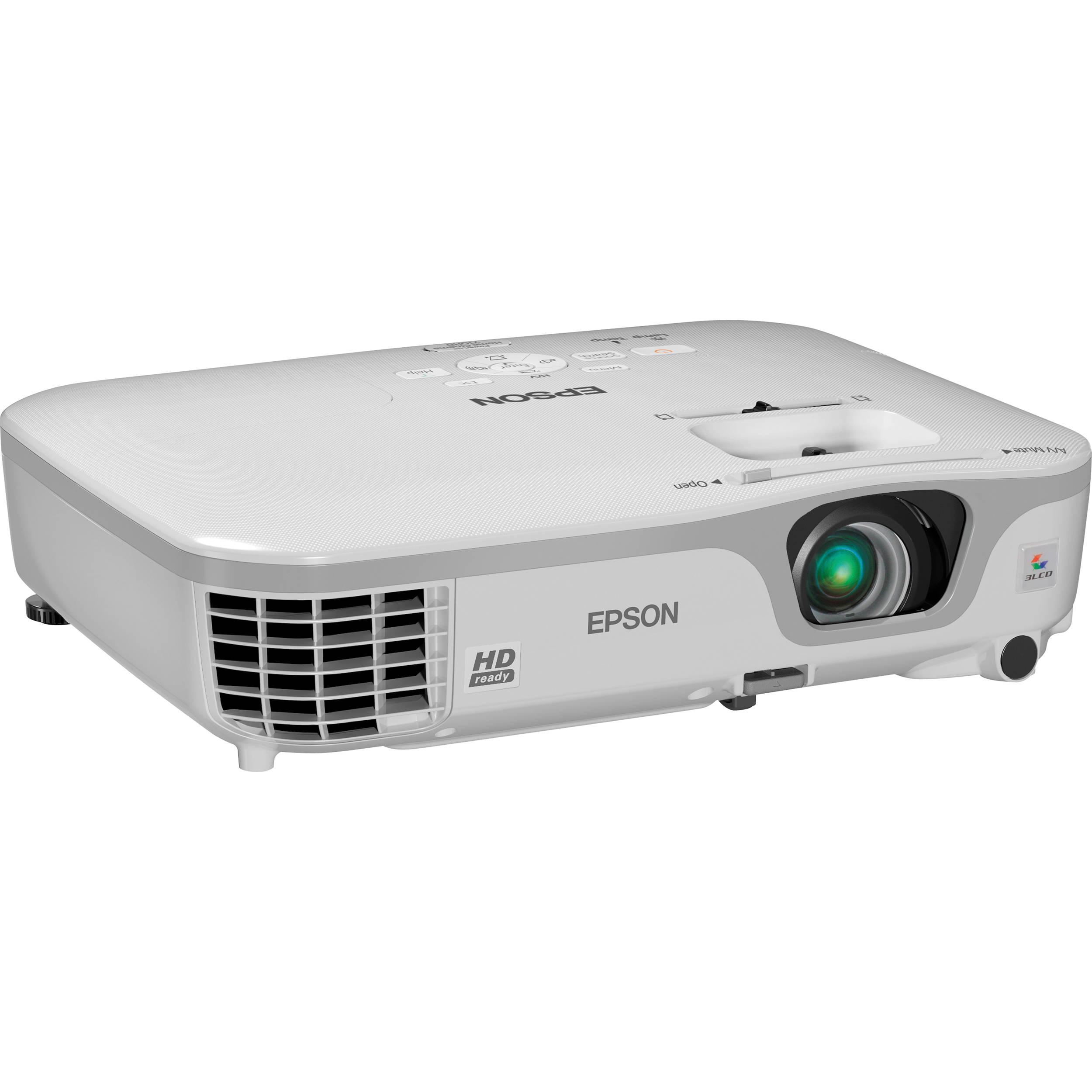 epson powerlite home cinema 710hd projector v11h475020 b h photo rh bhphotovideo com Epson Printers Epson L380 Manual