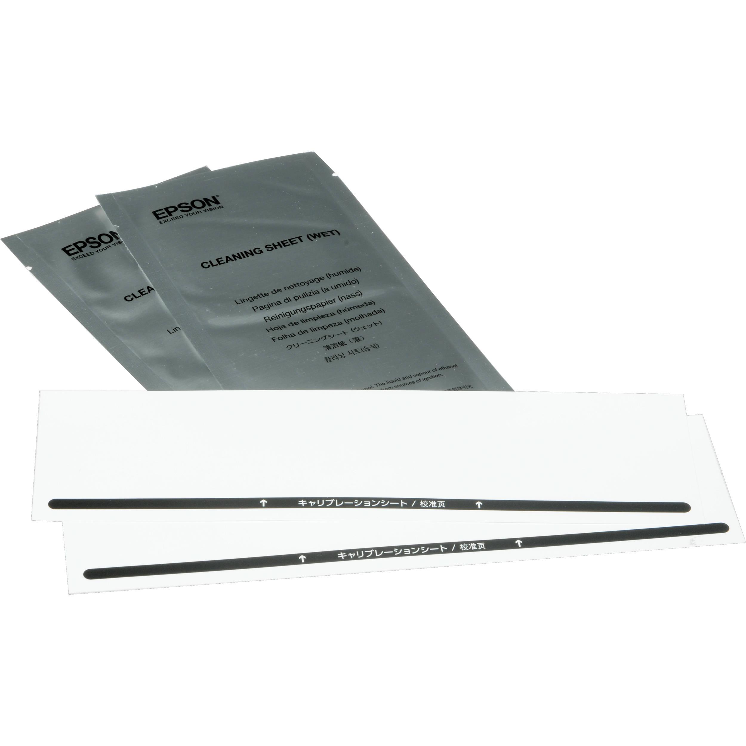 Epson Maintenance Sheet Kit For Ds 30 Scanner B12b818291 Bh