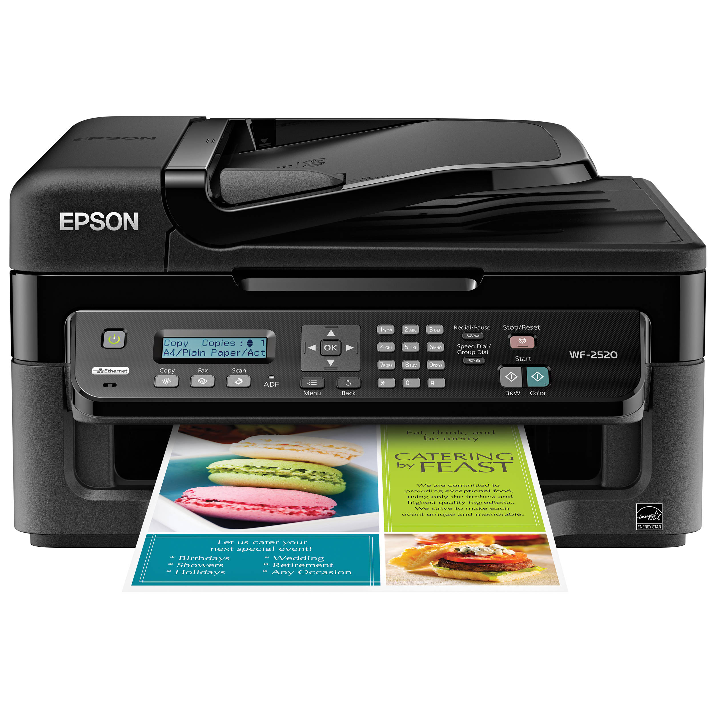epson workforce wf 2520 network color all in one