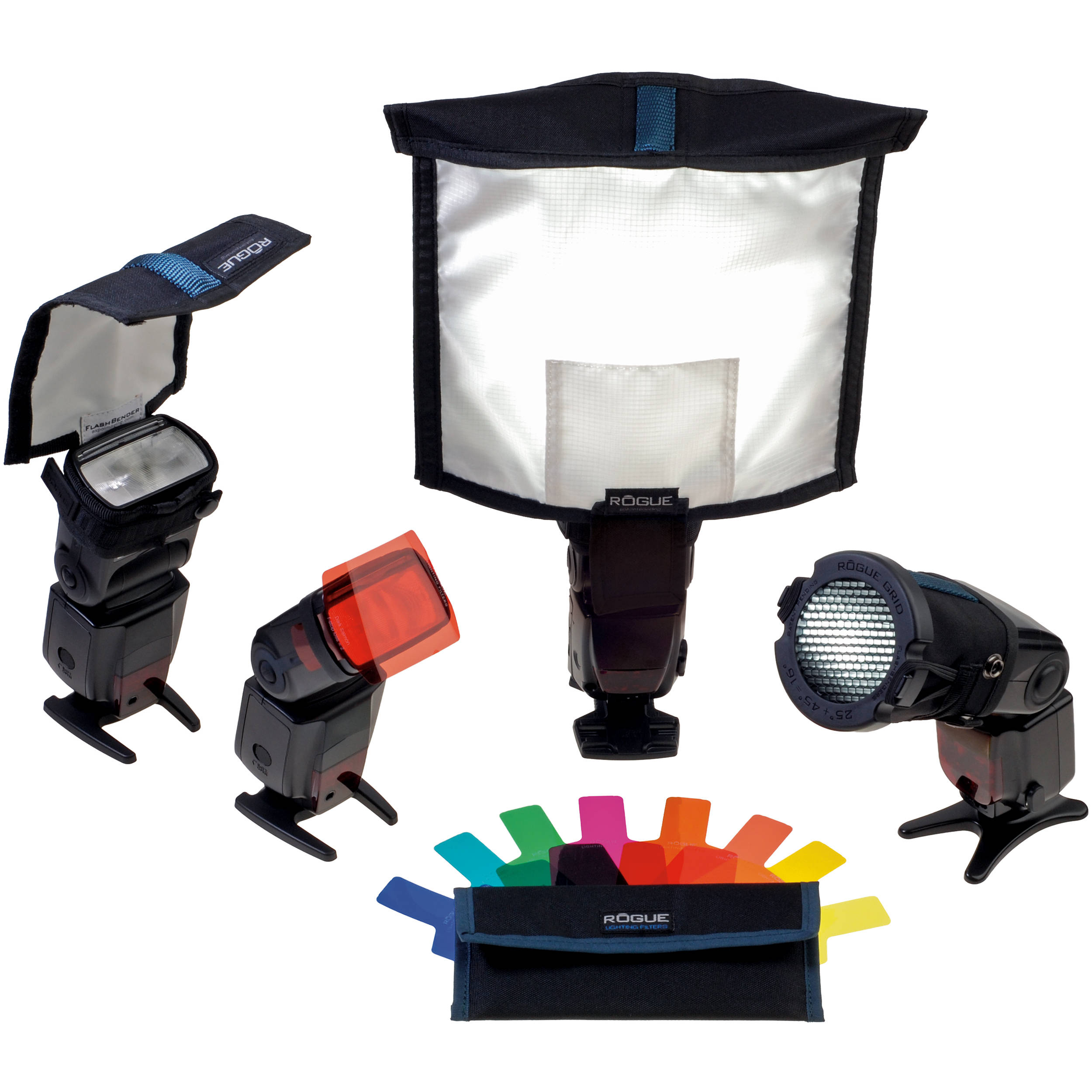 ExpoImaging Rogue Portrait Lighting Kit. Shown with Optional Accessories  sc 1 st  Bu0026H & ExpoImaging Rogue Portrait Lighting Kit ROGUEKIT-P Bu0026H Photo azcodes.com