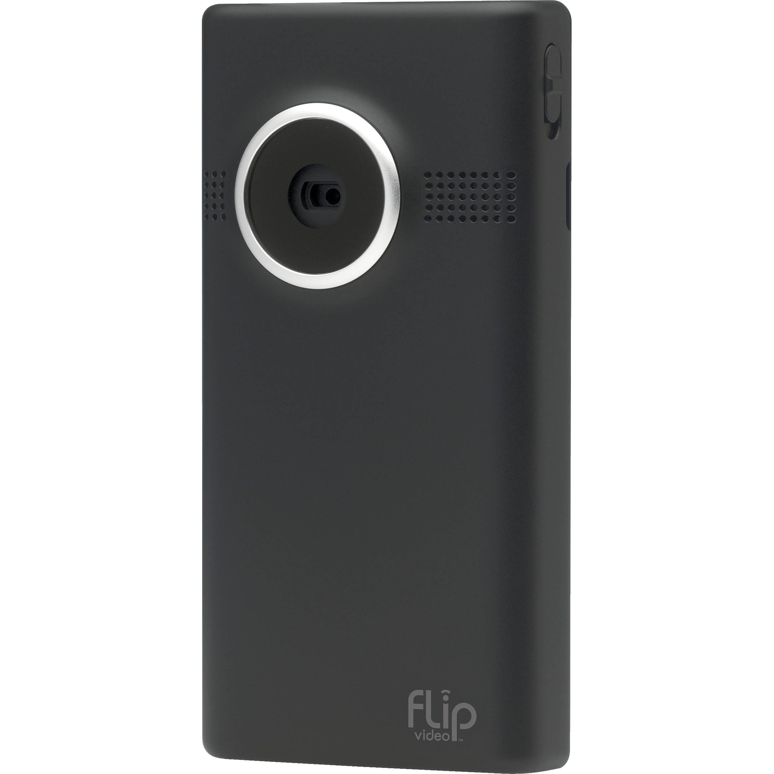 Flip Video MinoHD Video Camera (Black, 2 Hours)