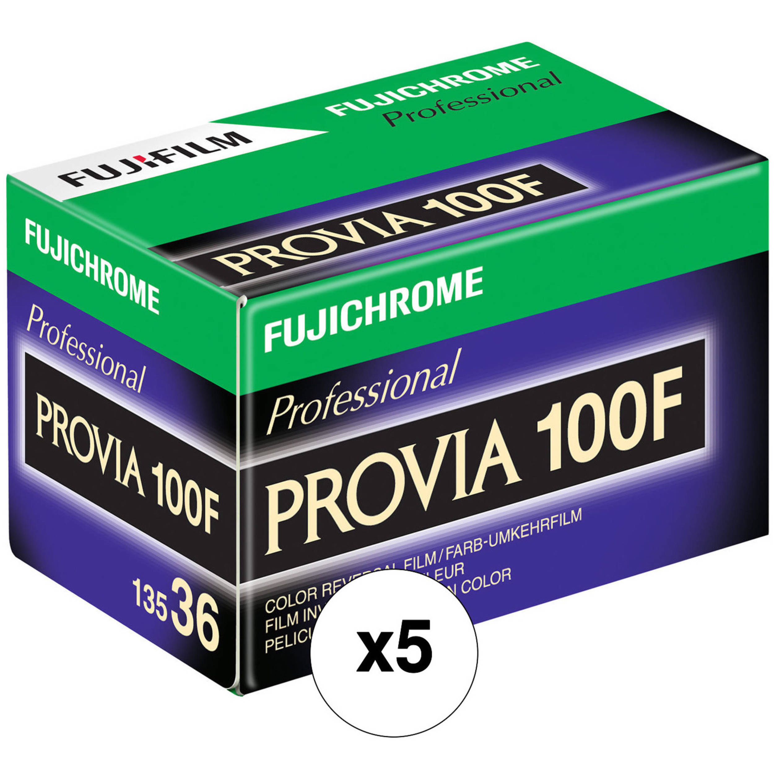 Fujifilm fujichrome provia 100f professional rdp iii 16326030 for What is provia