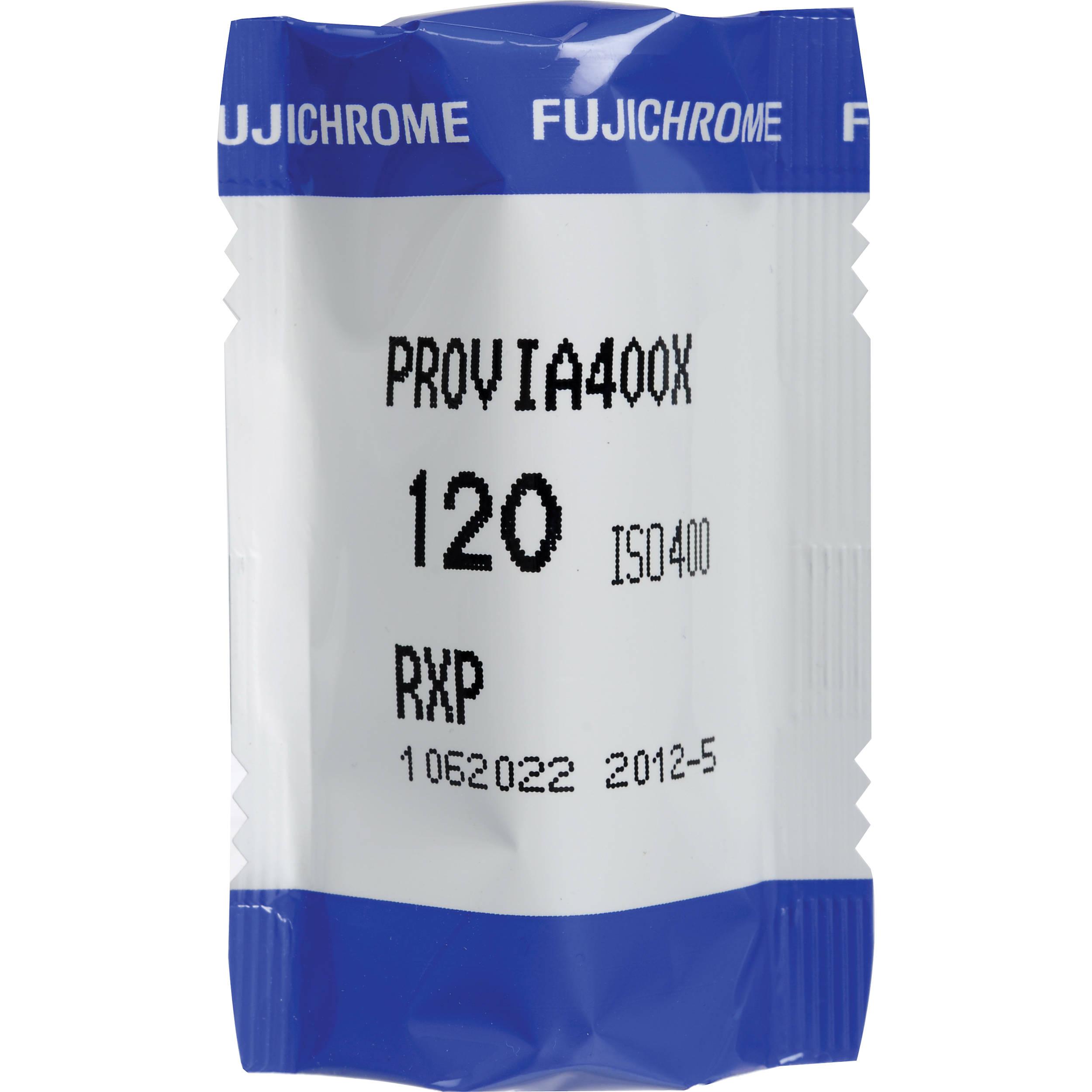 Fujifilm fujichrome provia 400x rxp iii 120 color for What is provia