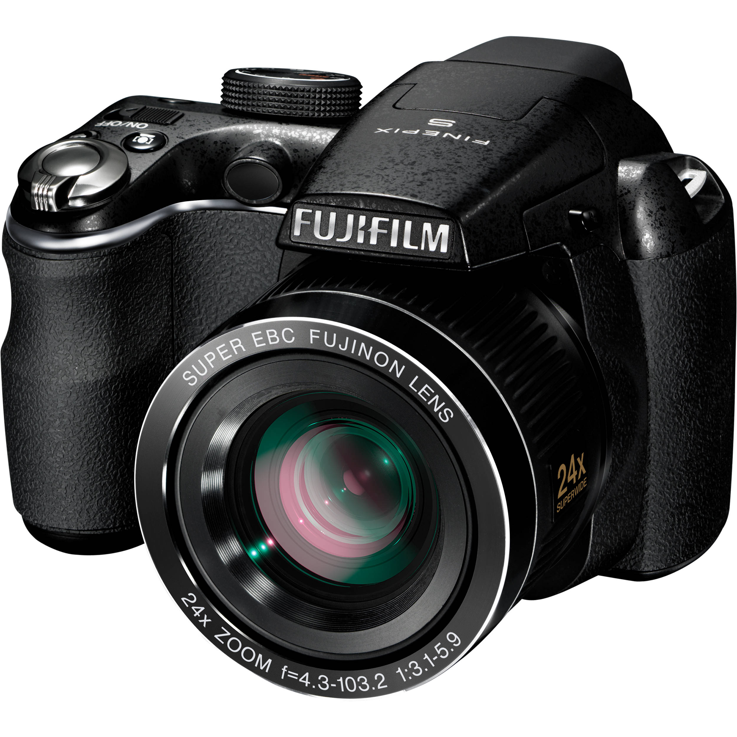 fujifilm finepix s3200 14mp digital camera black 16123737 b h rh bhphotovideo com