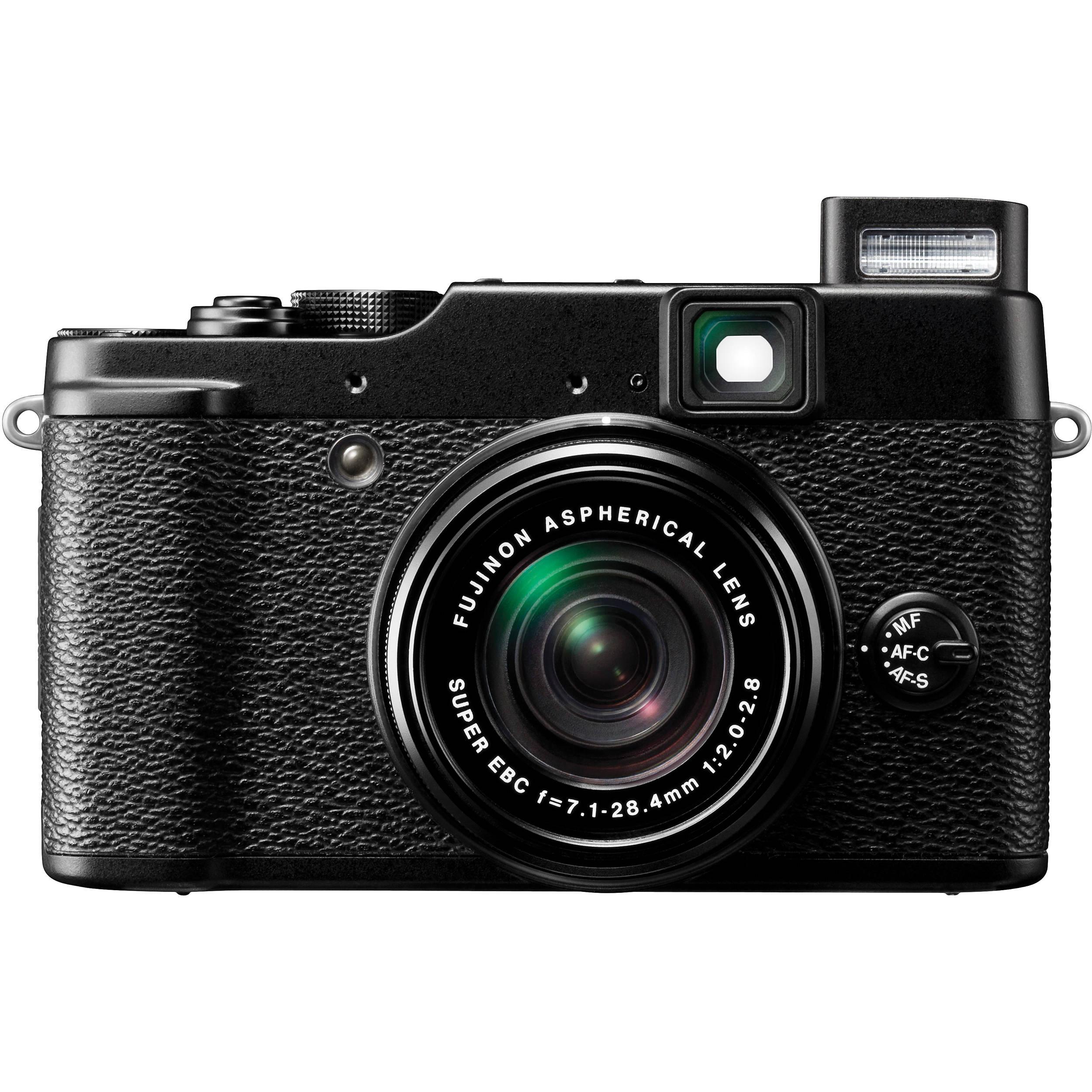 Fujifilm X10 Digital Camera (Black) 16190089 B&H Photo Video
