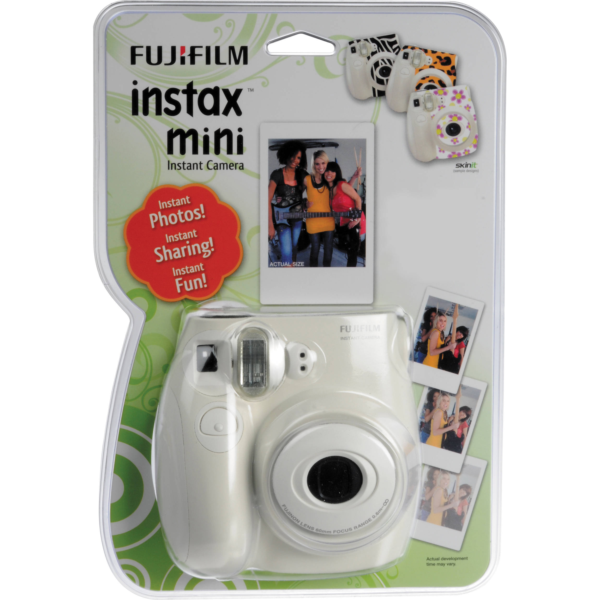 fujifilm instax mini 7s blister pack 600008773 b h photo video. Black Bedroom Furniture Sets. Home Design Ideas