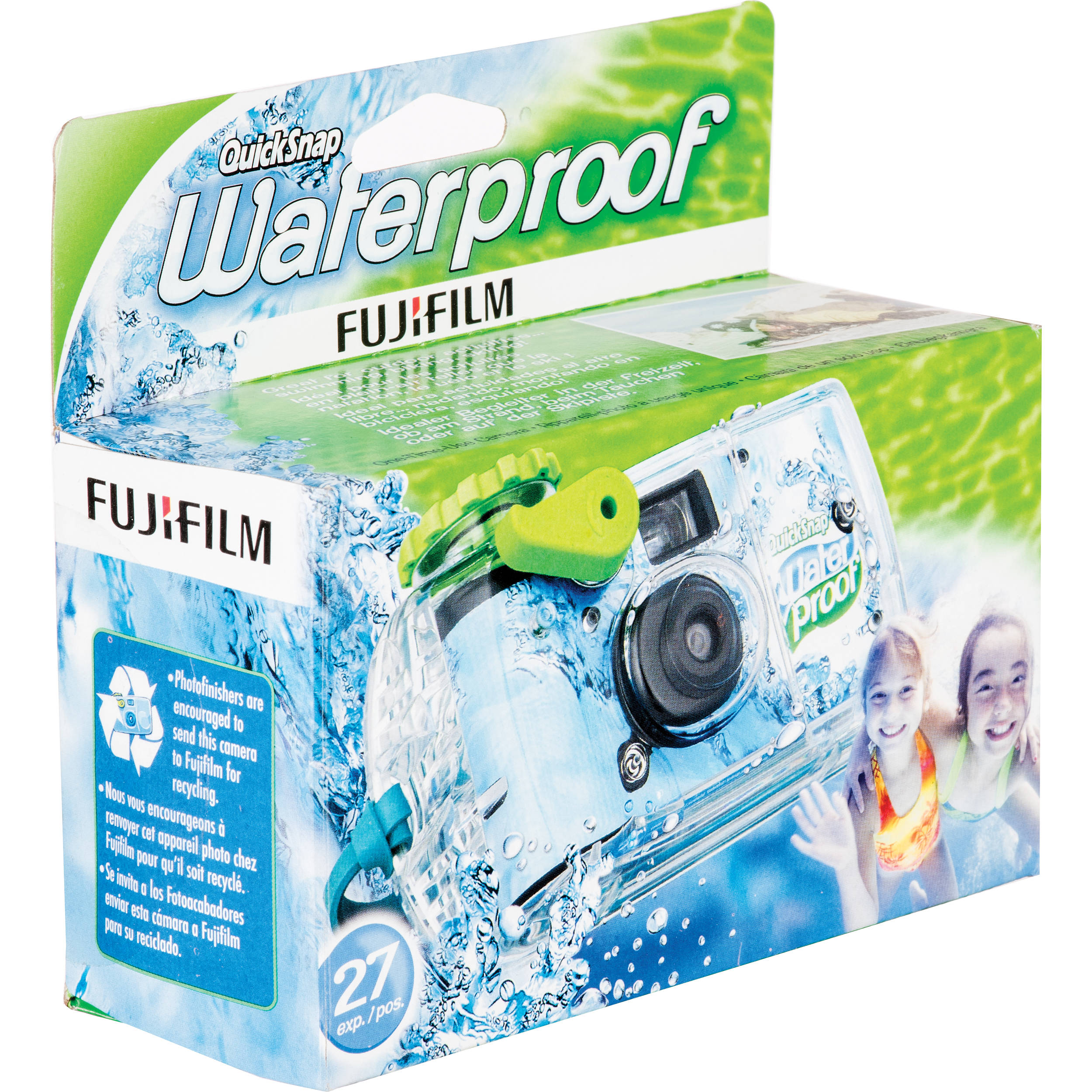 Fujifilm Quicksnap 800 Waterproof 35mm Disposable Camera