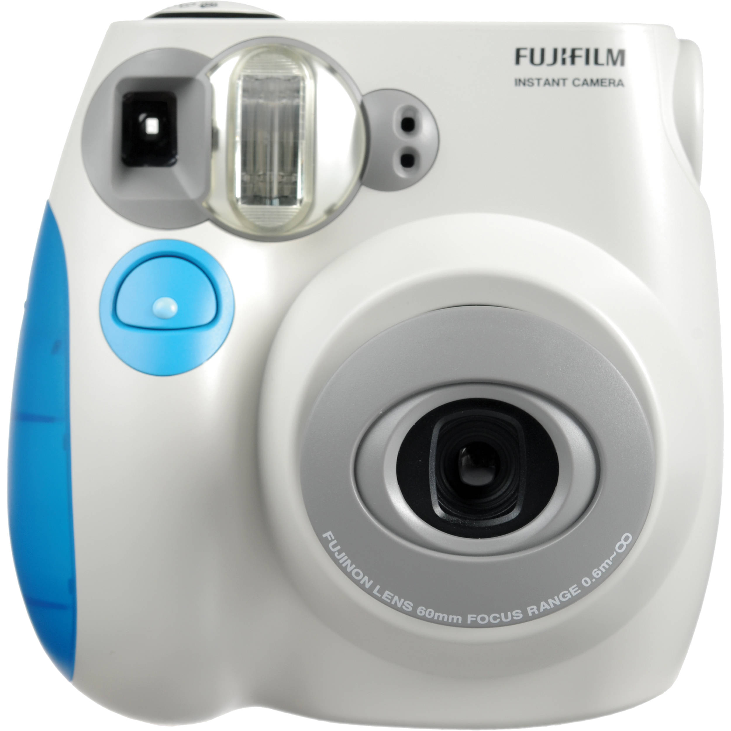 fujifilm instax mini 7s instant film camera blue b h photo. Black Bedroom Furniture Sets. Home Design Ideas