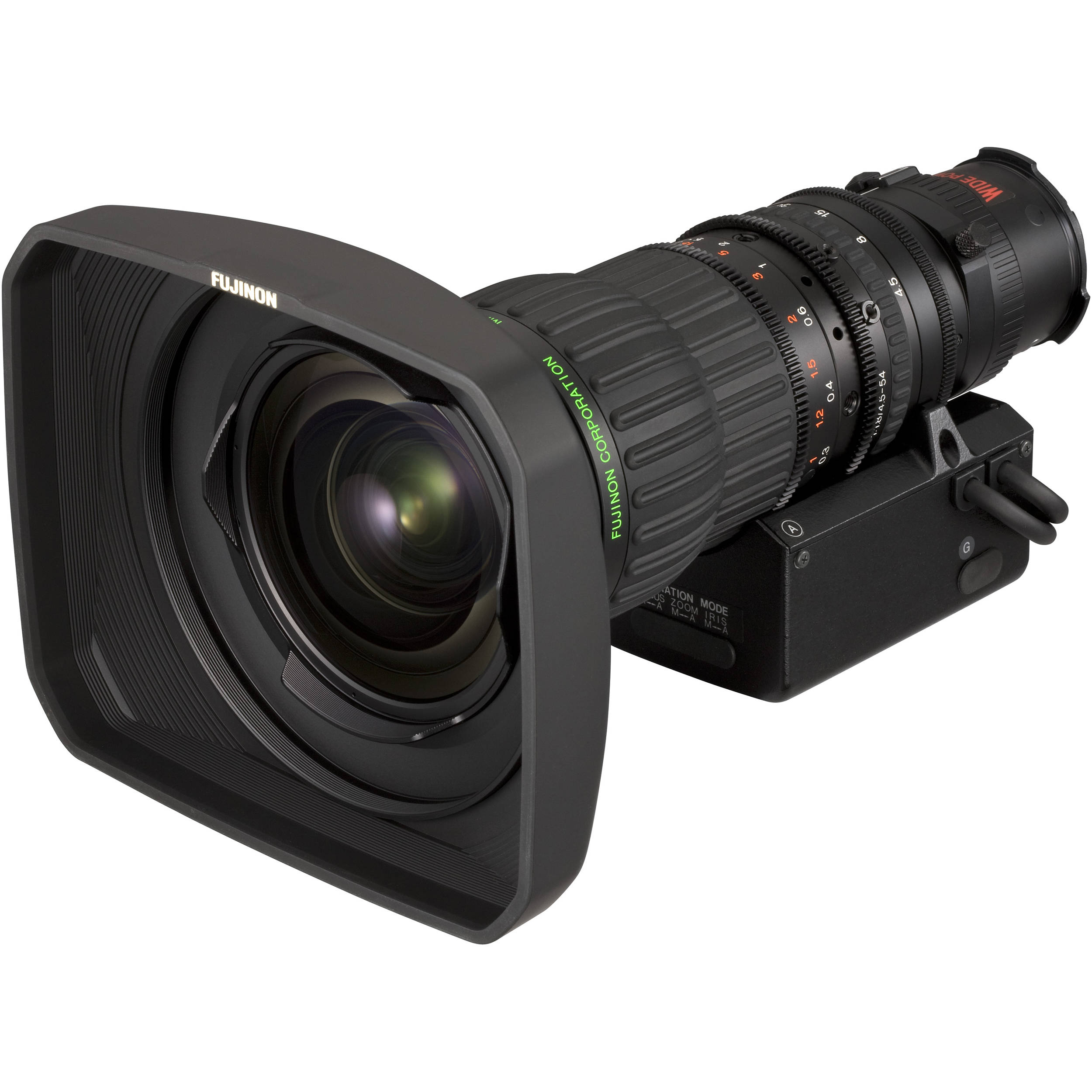 fujinon 4 5 54mm f 1 8 2 4 lens with digital za12x4 5bzd t58 b h. Black Bedroom Furniture Sets. Home Design Ideas