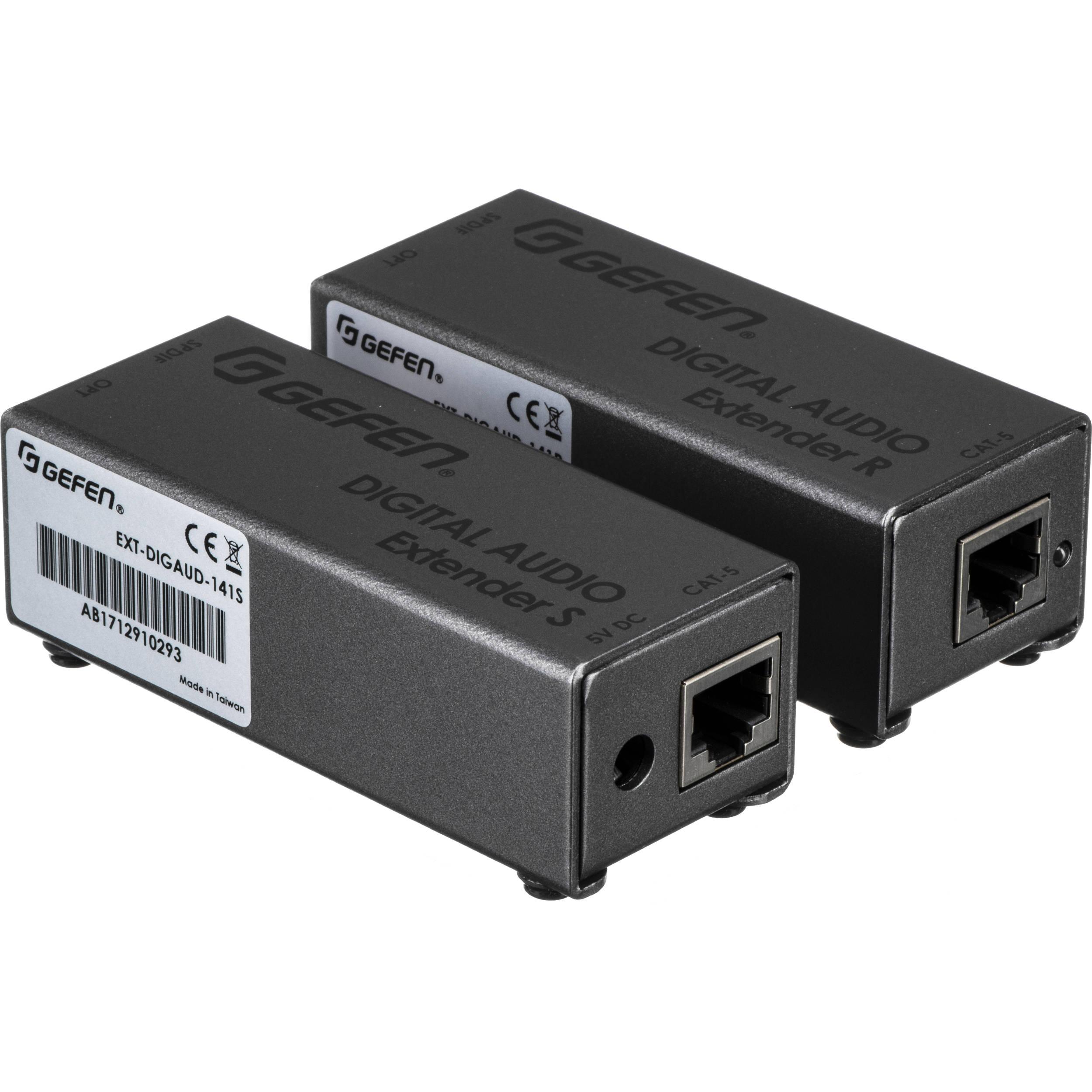 Digital Audio Video Photography: Gefen Digital Audio Extender S/PDIF Or TOSLink EXT-DIGAUD-141
