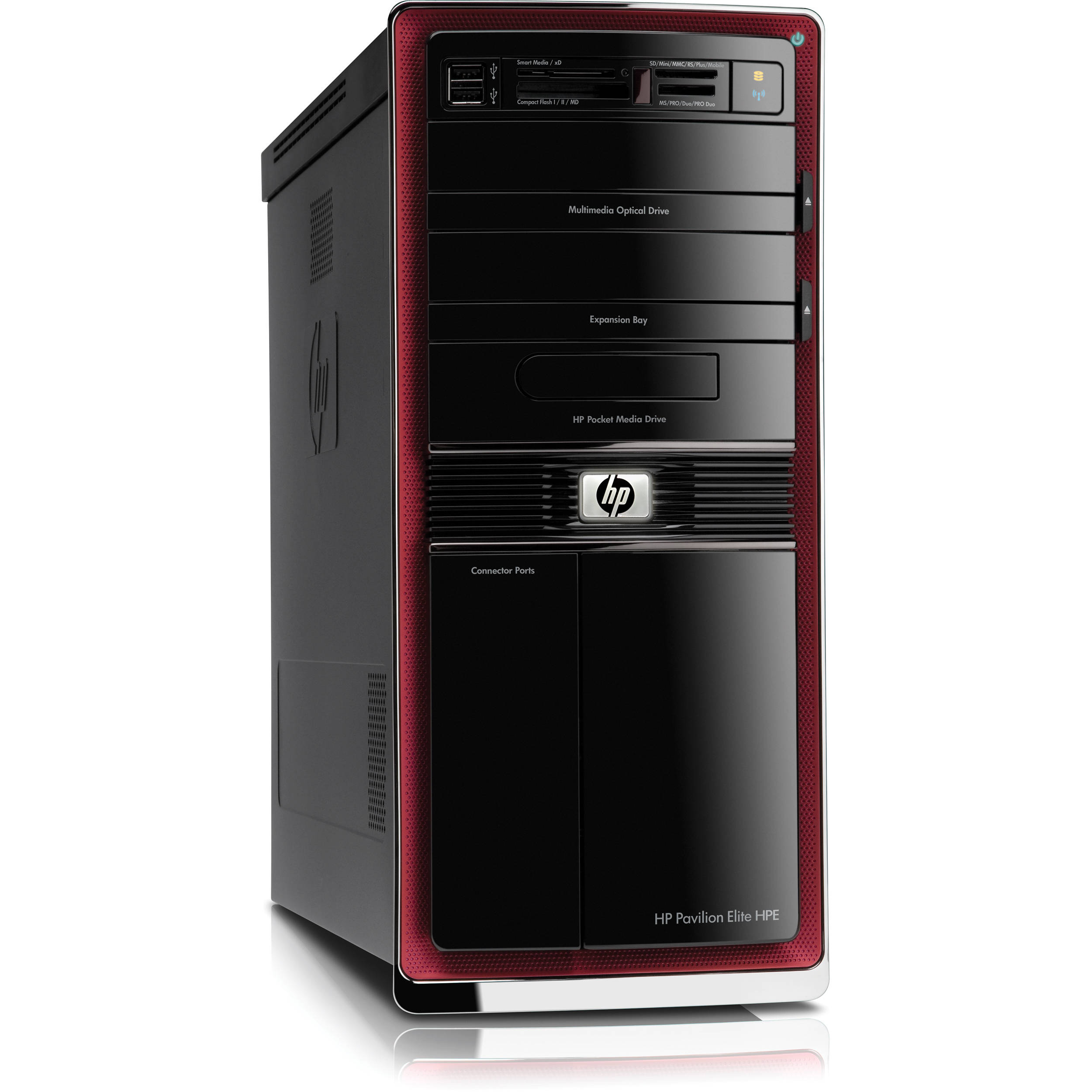 Hp Pavilion Elite Hpe 140f Desktop Computer Ay602aa Aba B Amp H