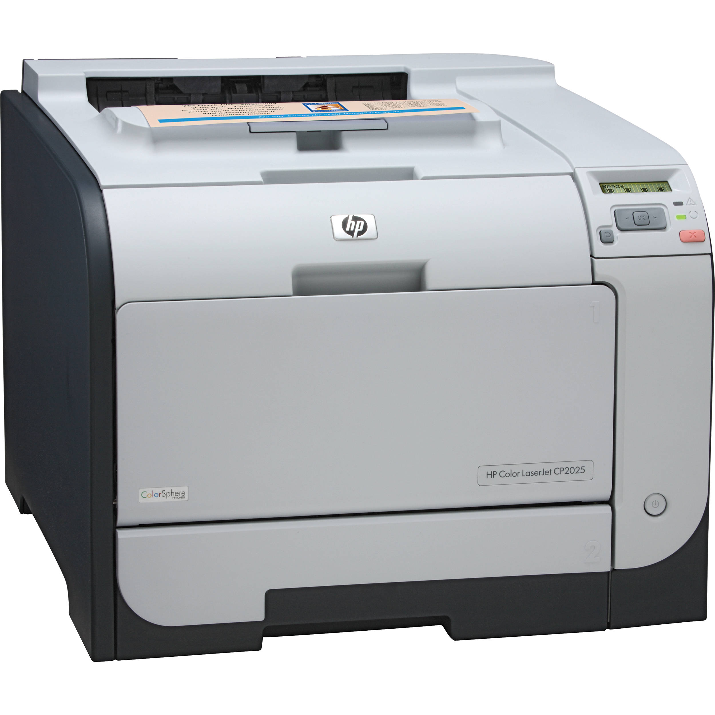 HP CB495A Color LaserJet CP2025dn Printer CB495A BampH Photo