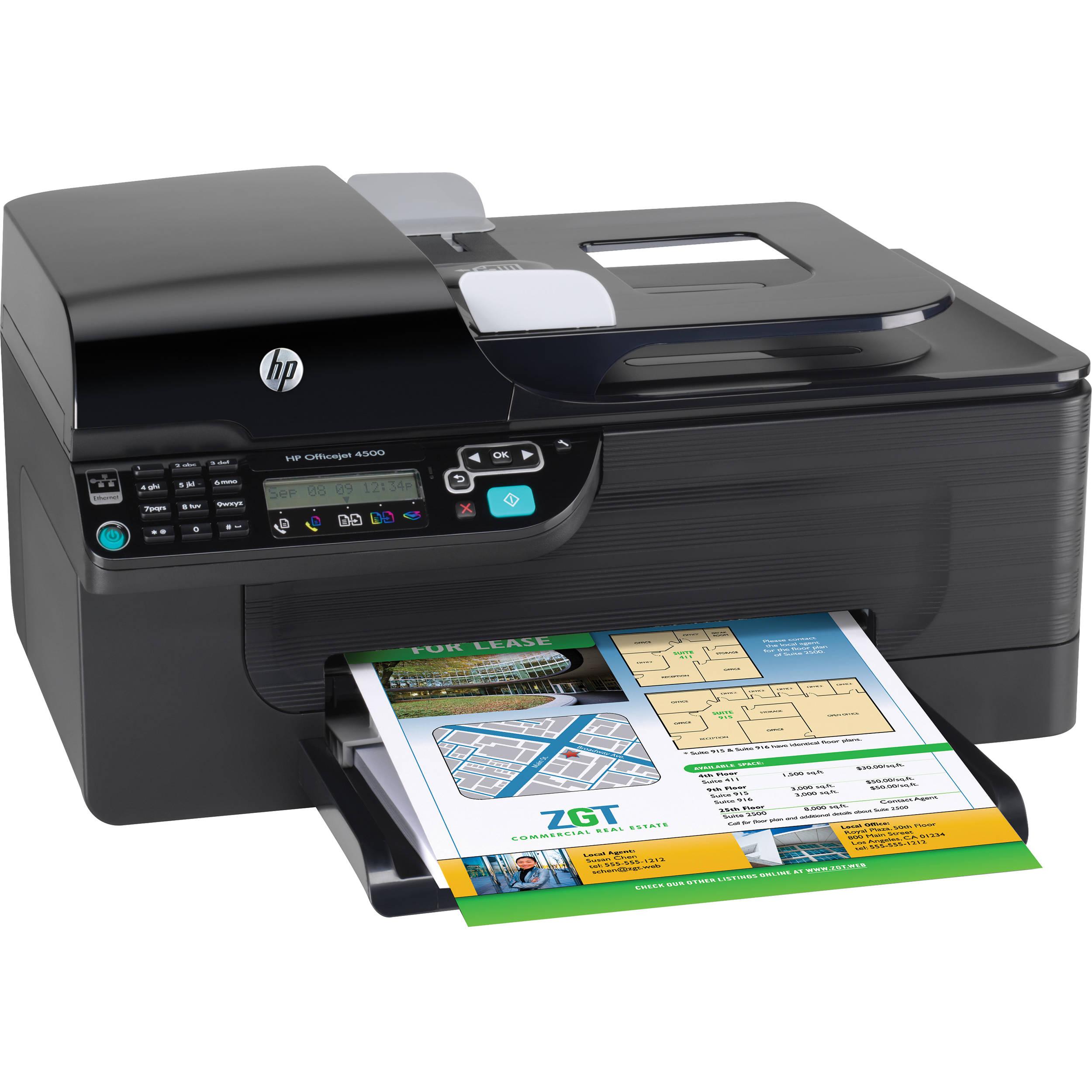 hp cb867a officejet 4500 all in one printer cb867a b1h b h photo rh bhphotovideo com owner's manual hp officejet 4500 owners manual hp officejet 4500 desktop