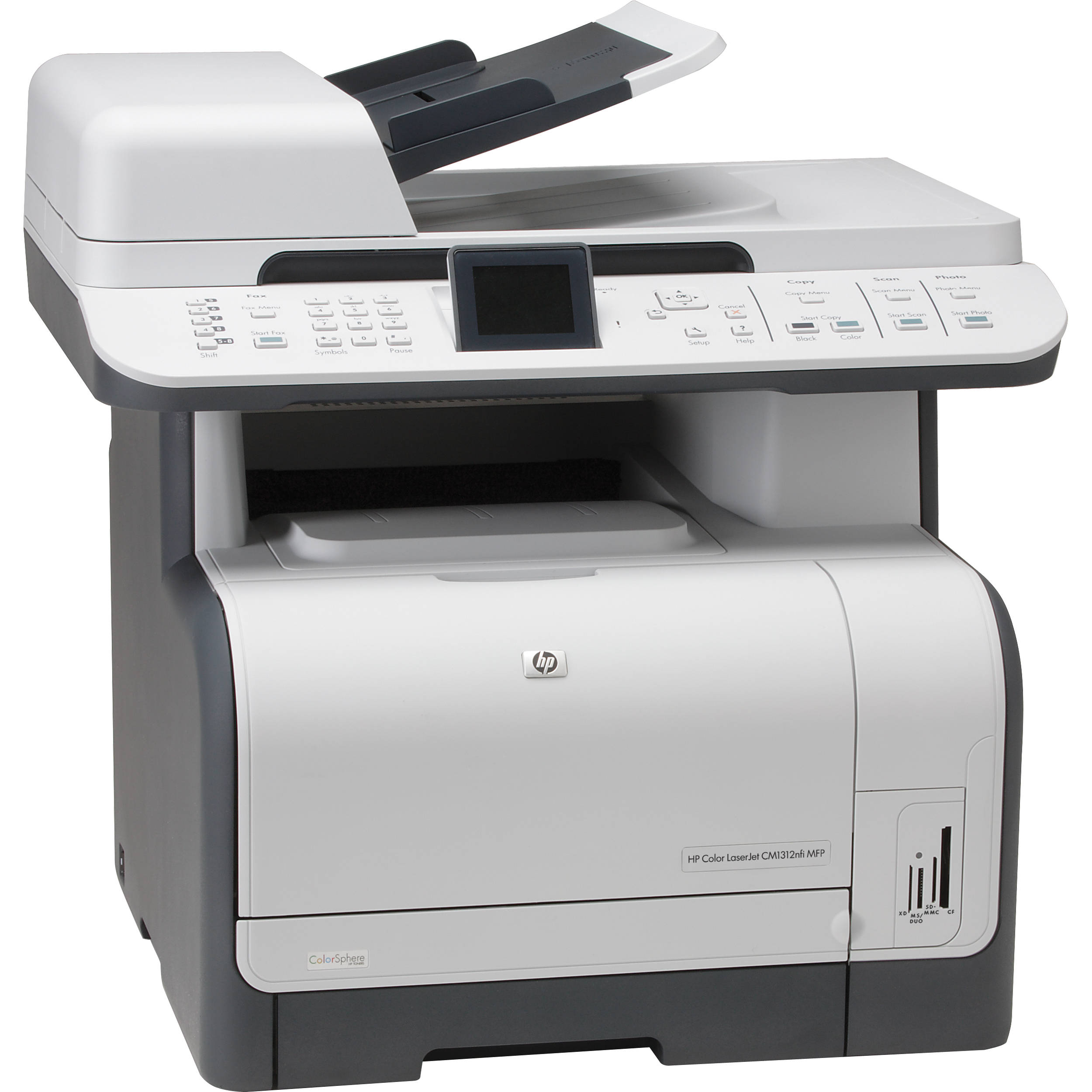HP (CC431A) Color LaserJet CM1312nfi Multifunction Printer