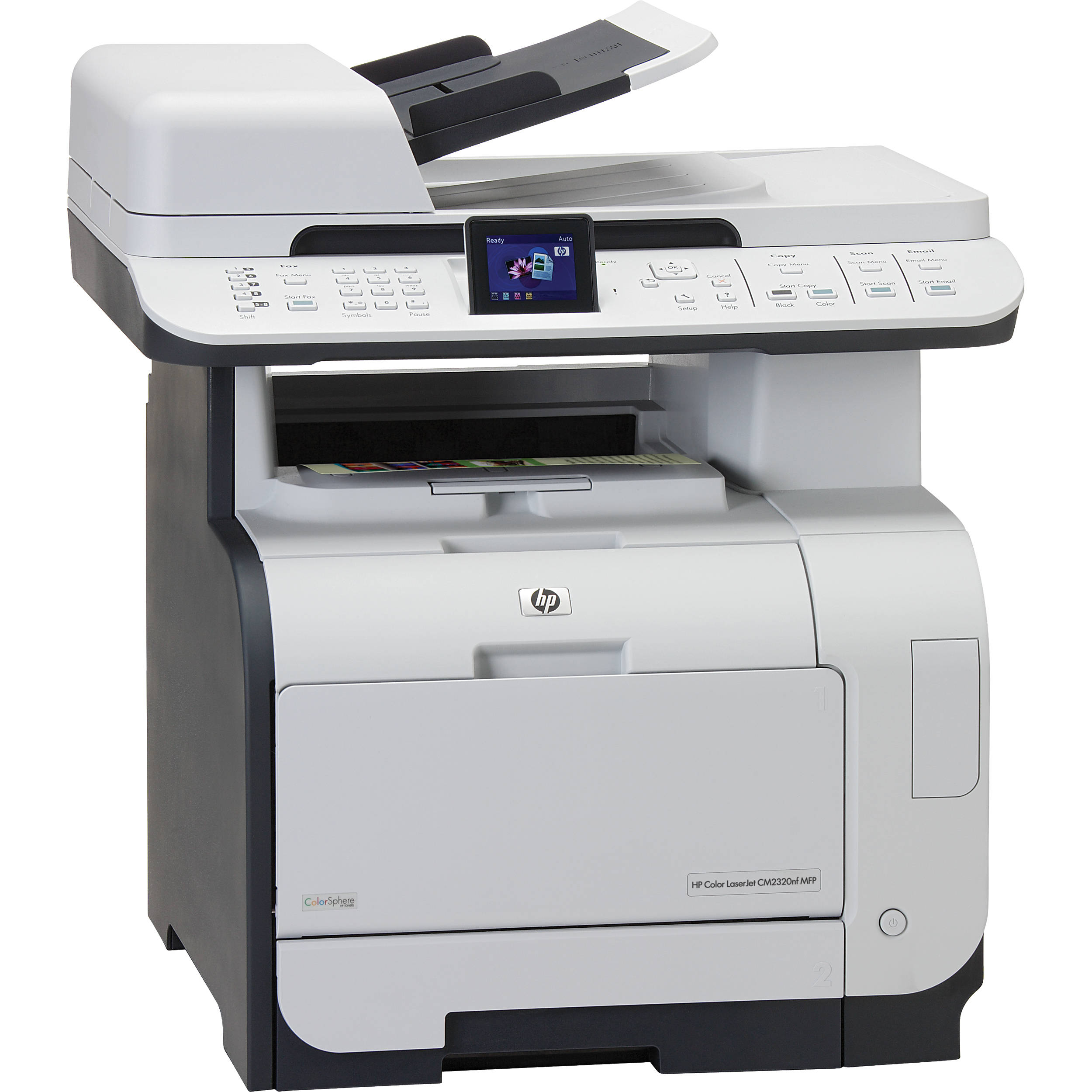 HP (CC436A) Color LaserJet CM2320nf Multifunction Printer